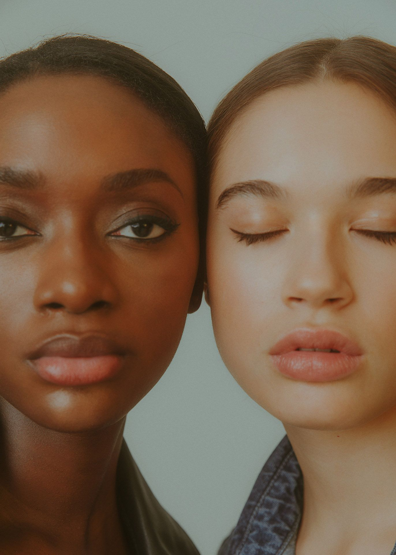 two models shot by Kelly Jacob