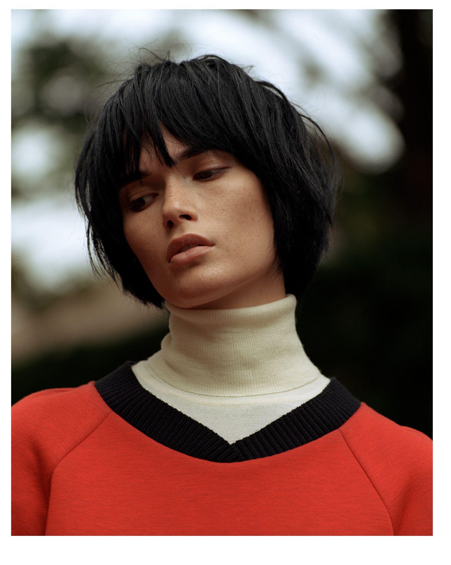 model by Maxyme G Delisle for Fraulein Magazine fashion editorial