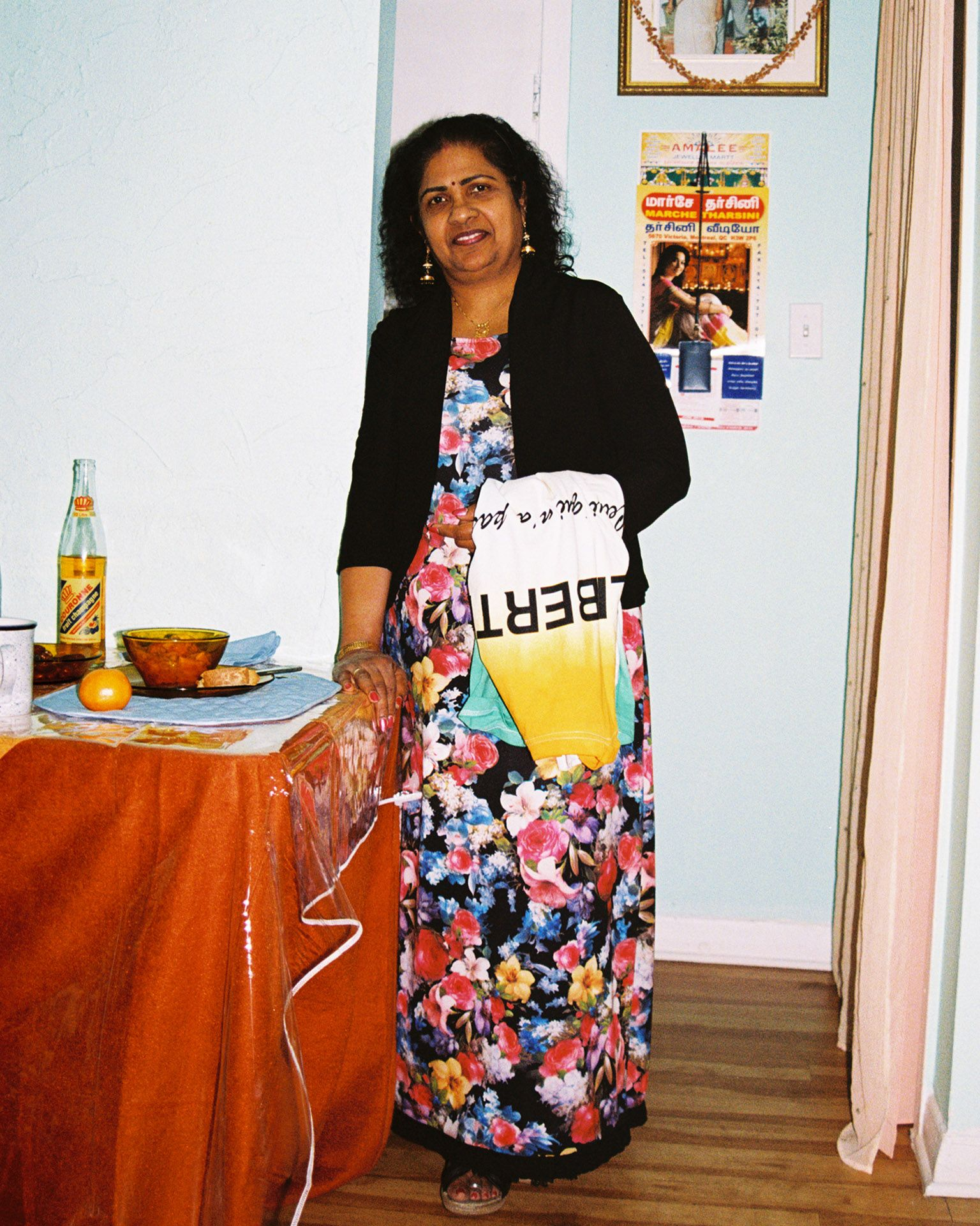 indian middle aged woman by Oumayma B Tanfous for Moonshine international sapologie with Nataal