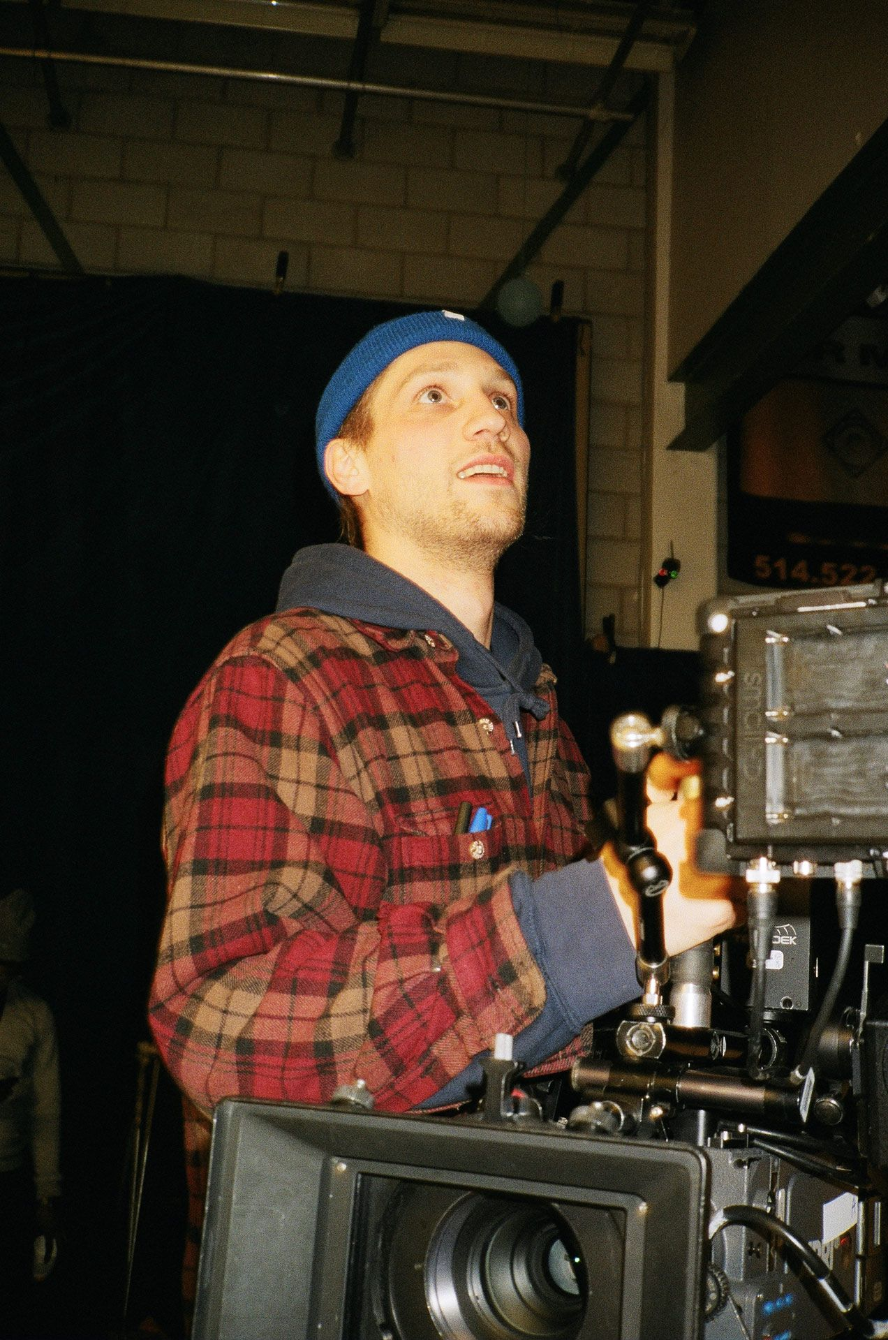 Christophe Sauvé filming rapper Zach Zoya music video Who Dat with Les Gamins