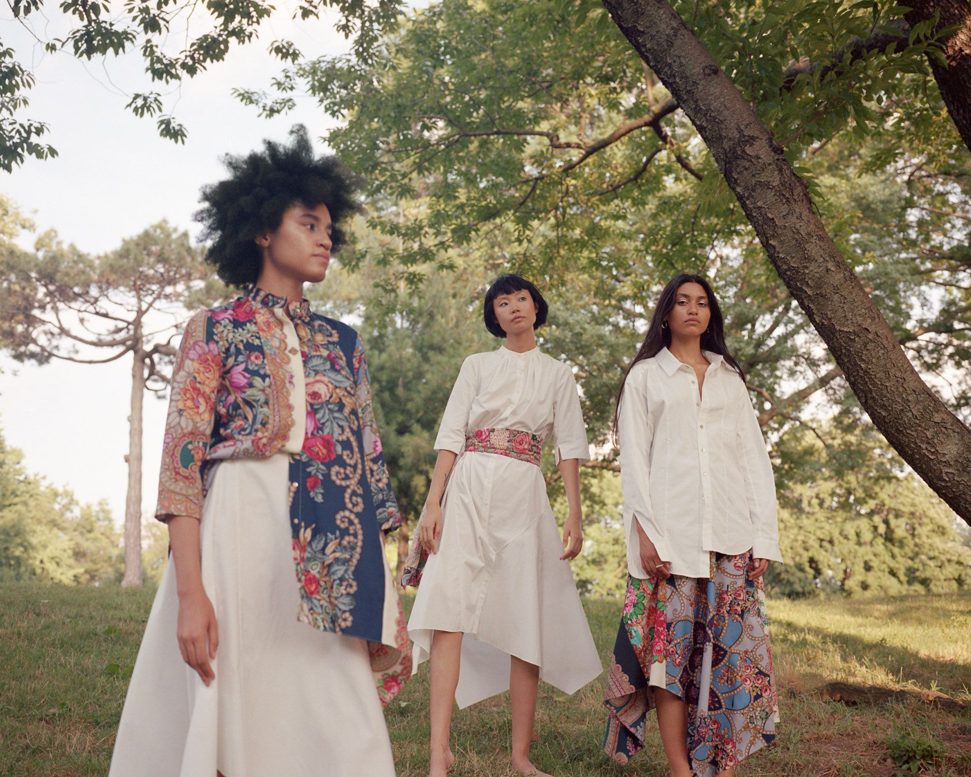 models in nature by Oumayma B Tanfous for Sustainability Emerging Designers in Flaunt Magazine