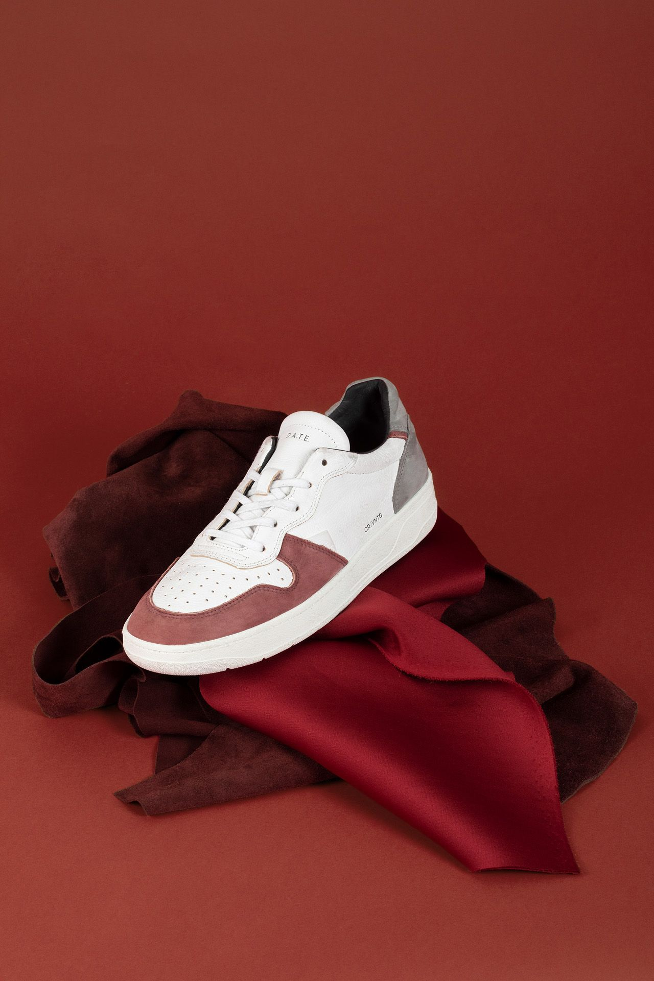shoes and textured fabrics for Jean-Paul Fortin's fall-winter 2020 collection by Studio TB