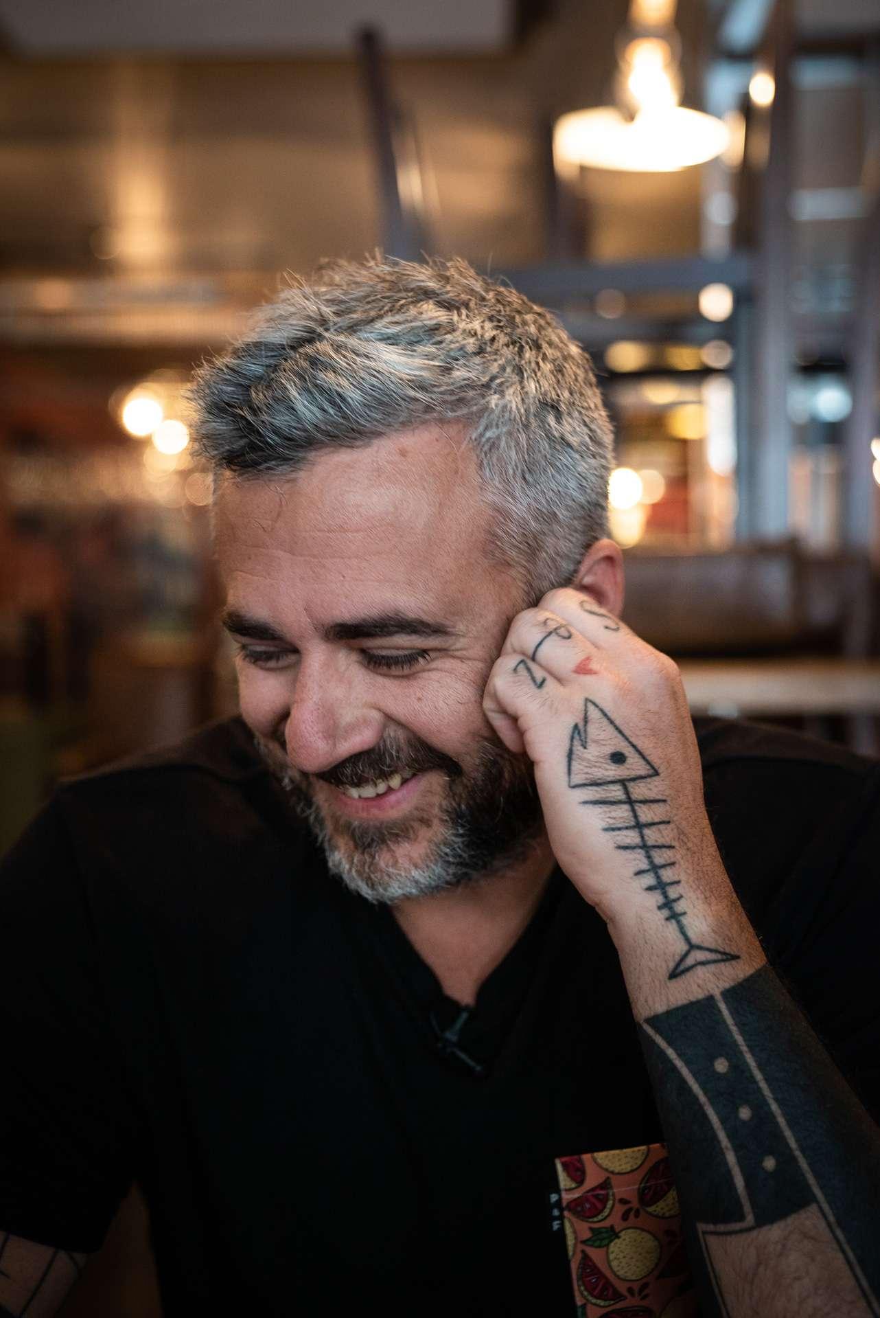 portrait du chef Martin Juneau du restaurant Pastaga par Bruno Florin