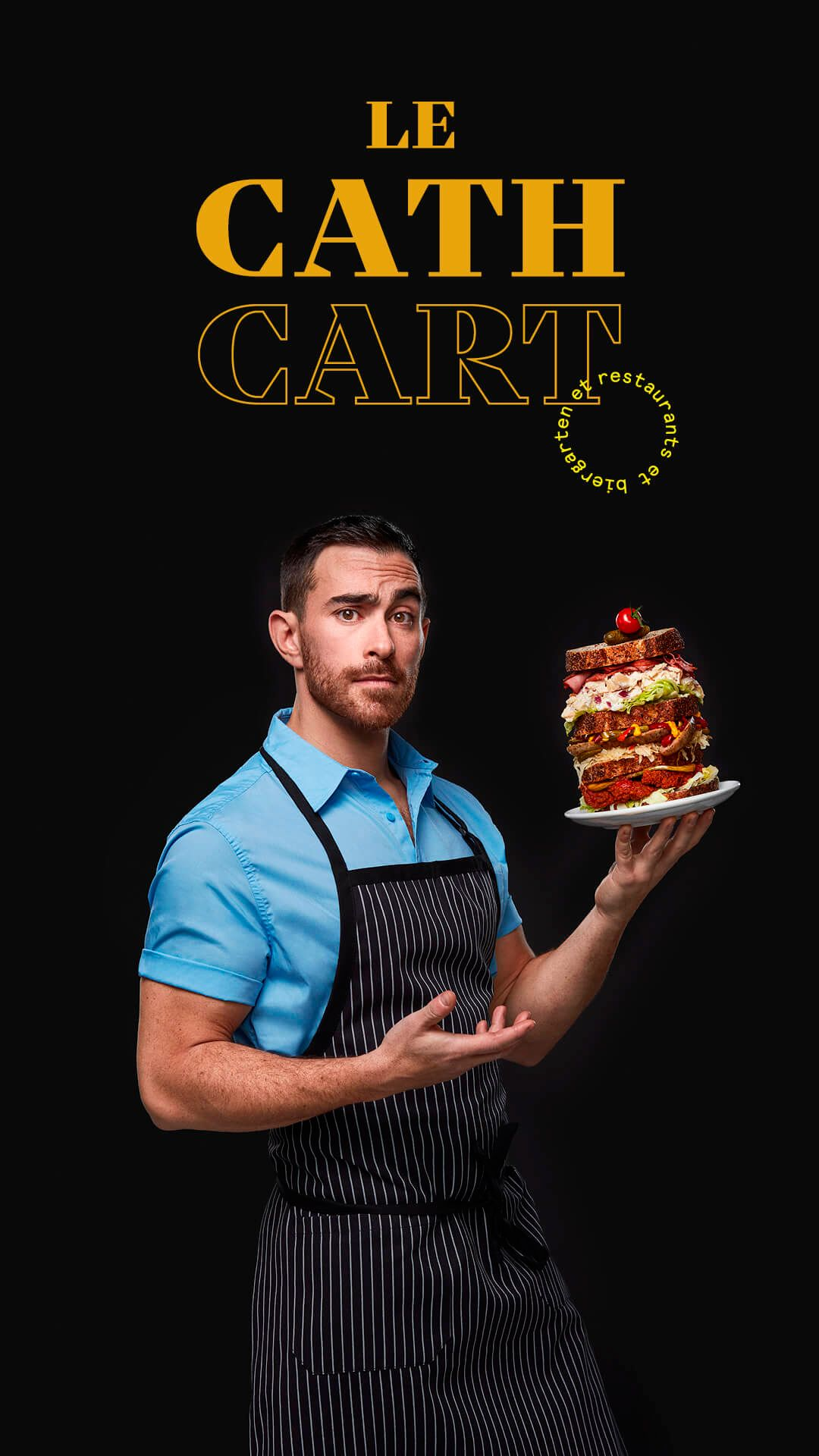 Alexandre Cohen by Jocelyn Michel for Cathcart restaurant