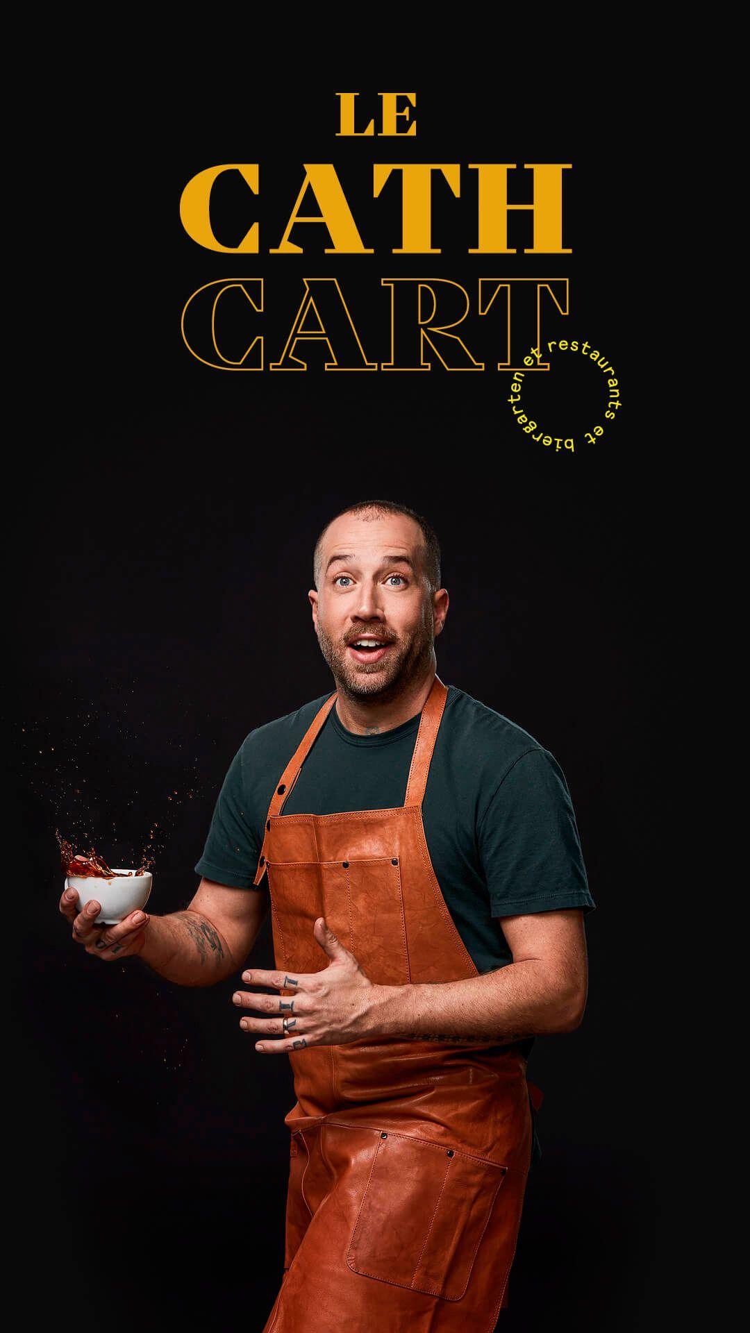 Blake Mackay by Jocelyn Michel for Cathcart restaurant