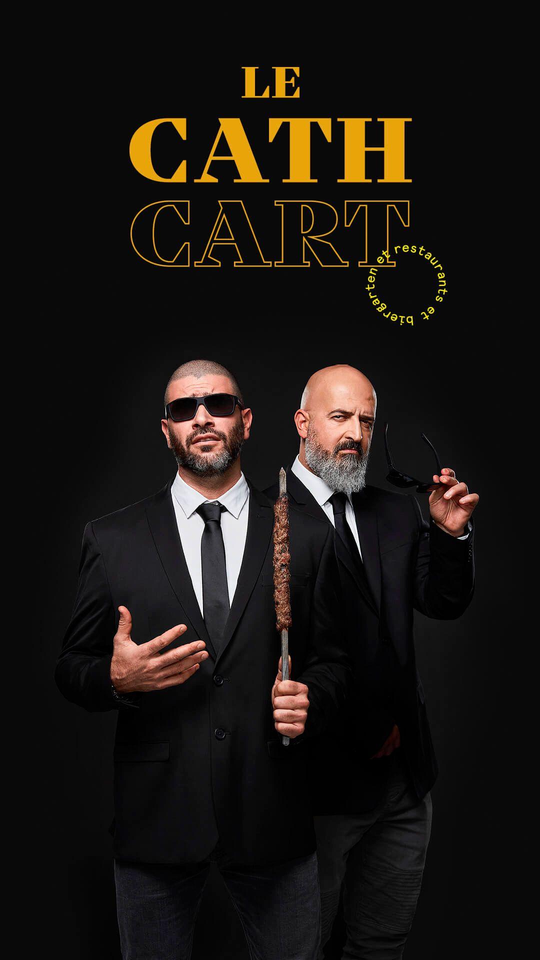 Charbel Yazbeck et Akram Sleiman by Jocelyn Michel for Cathcart restaurant