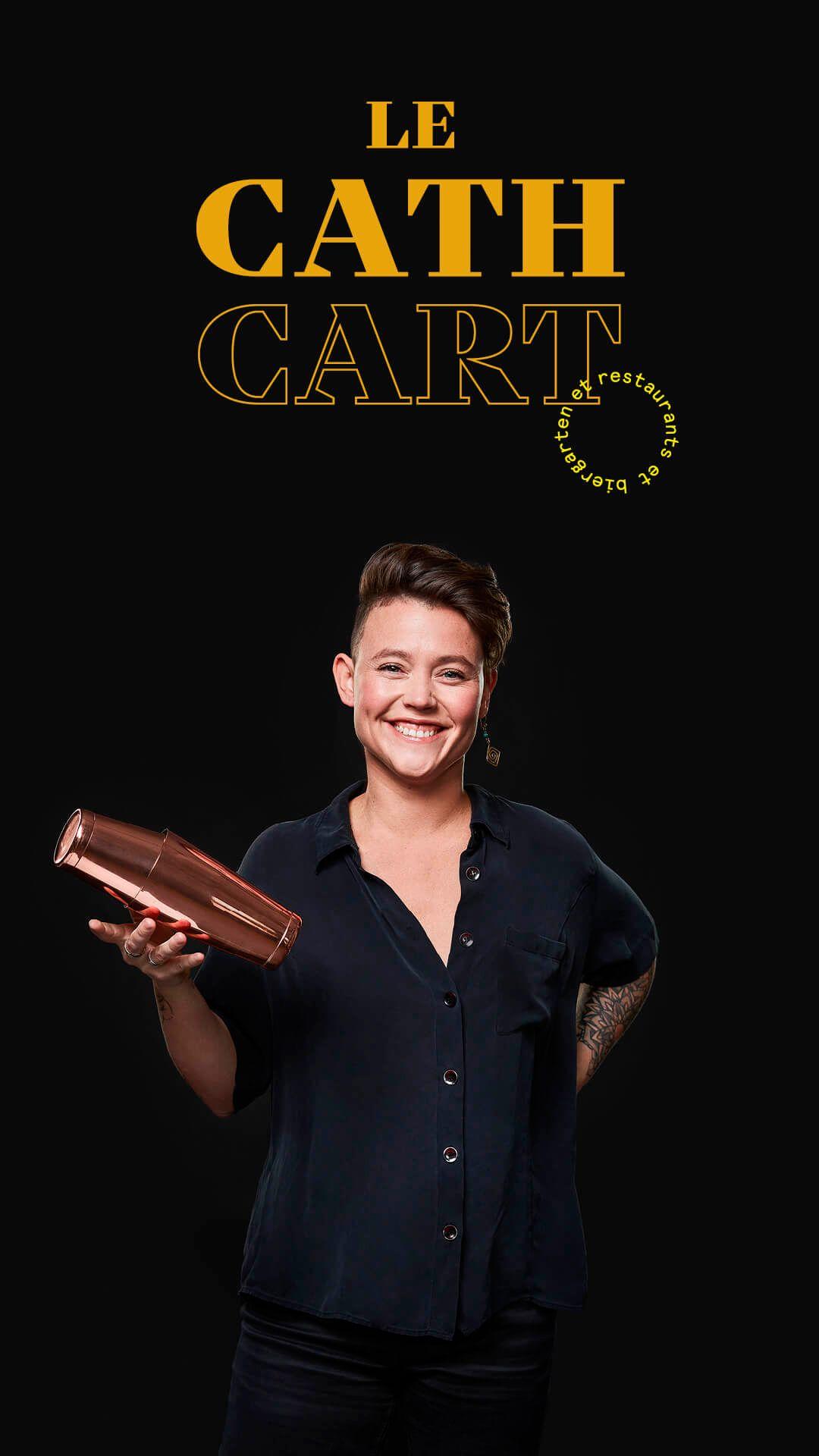 Daphnee Vary Deshaies by Jocelyn Michel for Cathcart restaurant