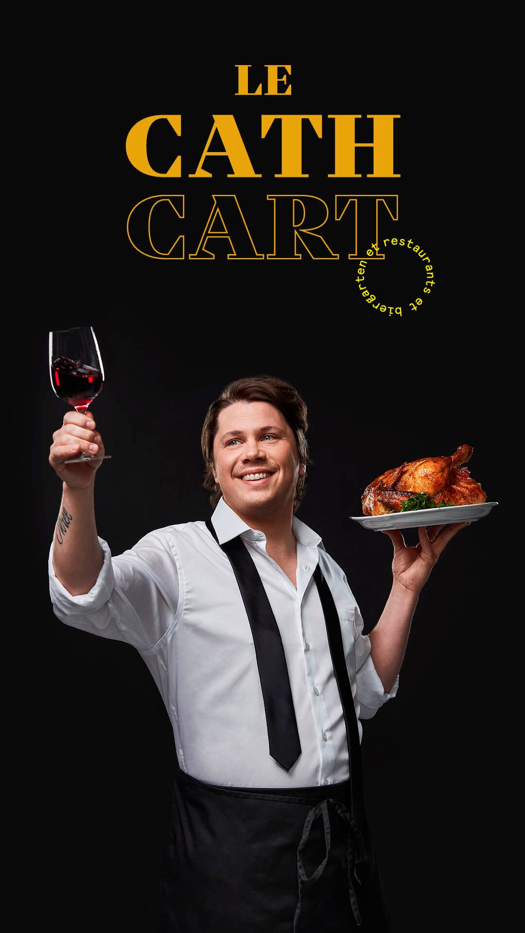 Nicholas Giambattisto by Jocelyn Michel for Cathcart restaurant