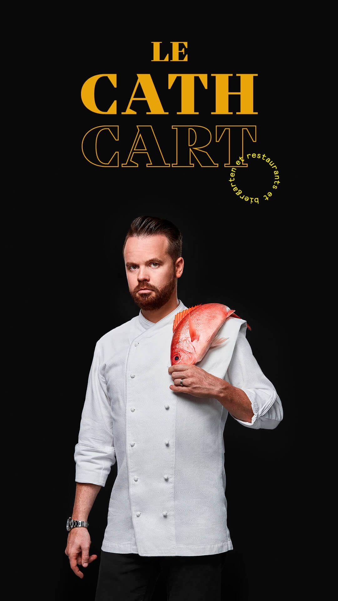 Olivier Vigneault by Jocelyn Michel for Cathcart restaurant