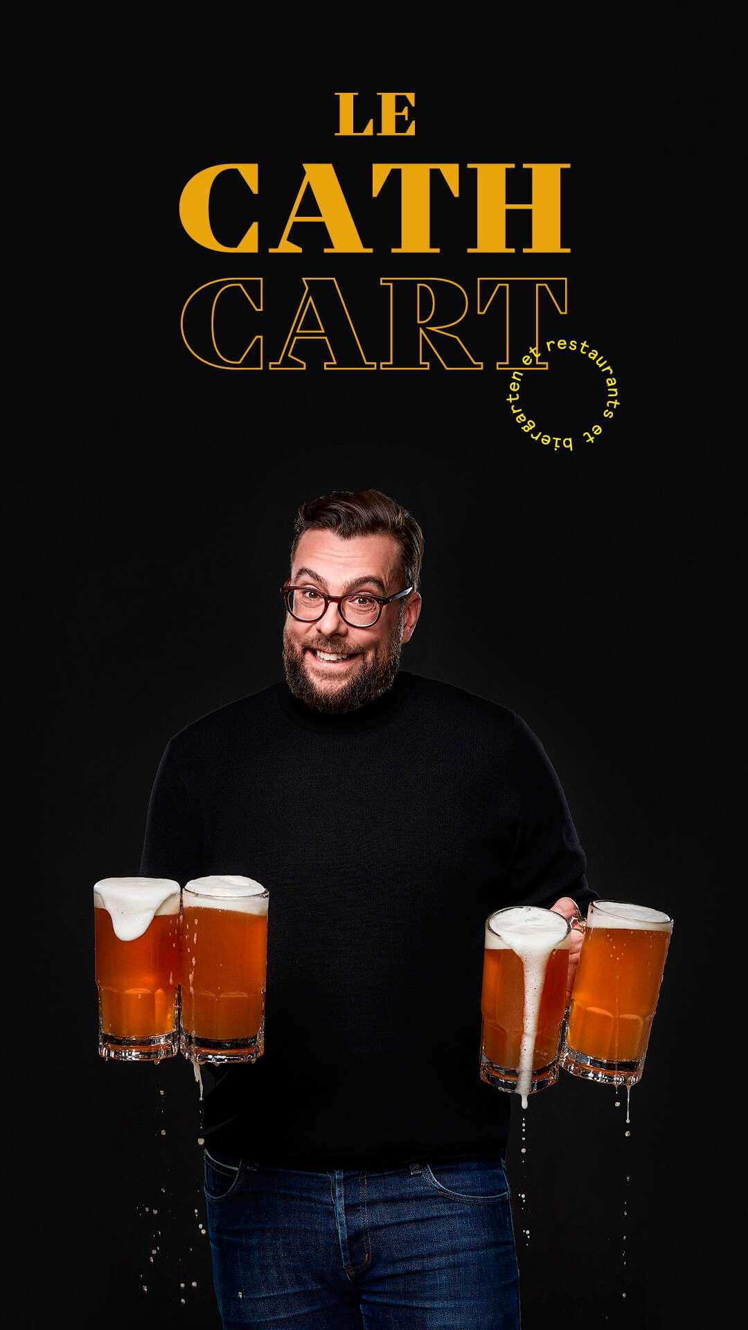 Stephane Pilon by Jocelyn Michel for Cathcart restaurant