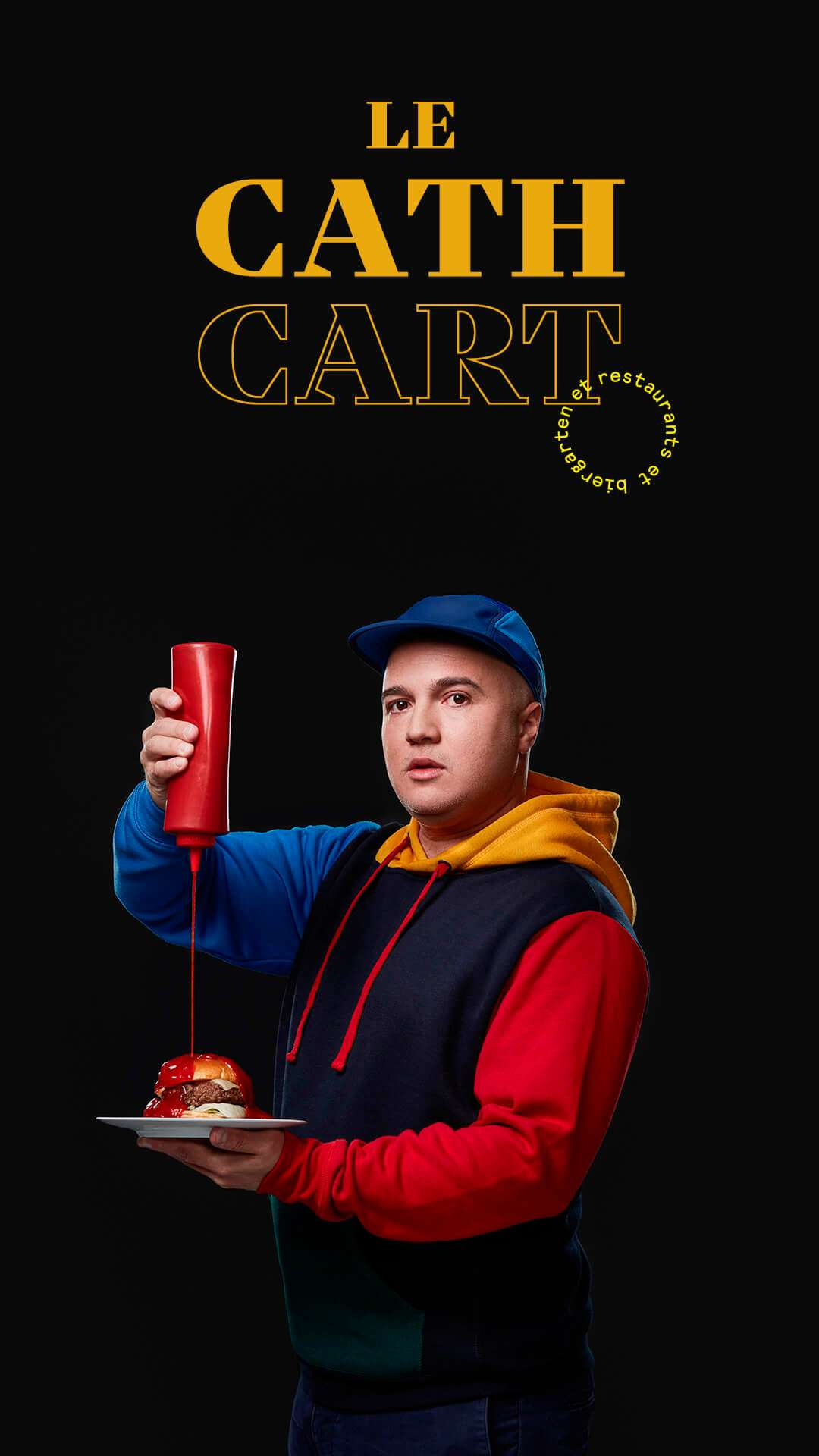 Younes Bengeloune by Jocelyn Michel for Cathcart restaurant