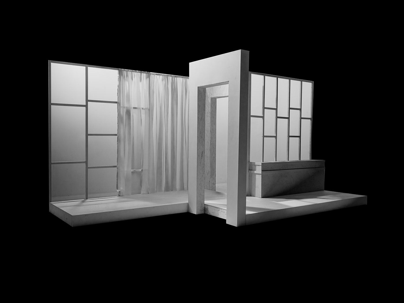 stage built for Fabrikated Fantasy by Fabrikate by Studio TB photographed by Simon Duhamel