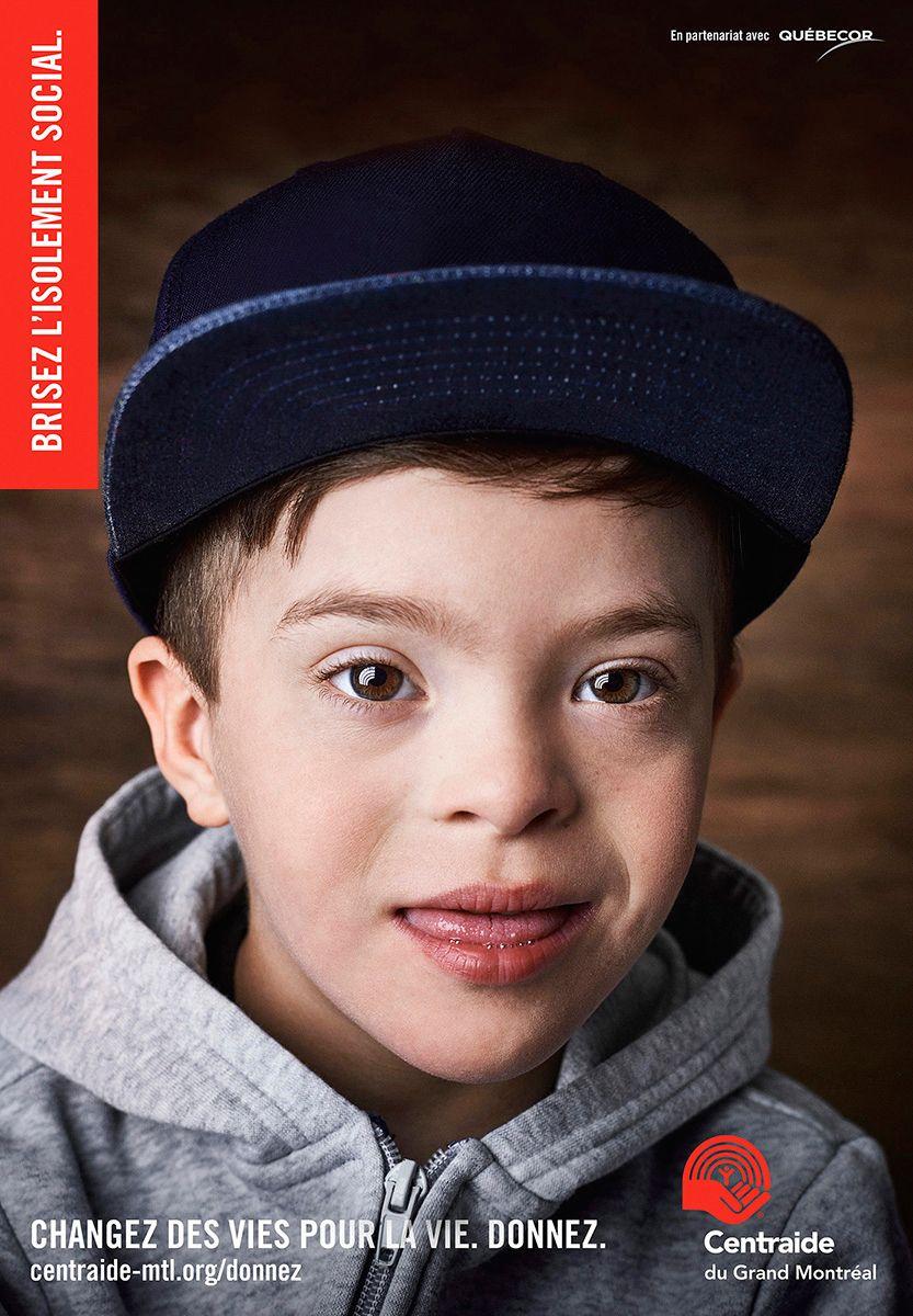 little boy poster by Jocelyn Michel for Centraide