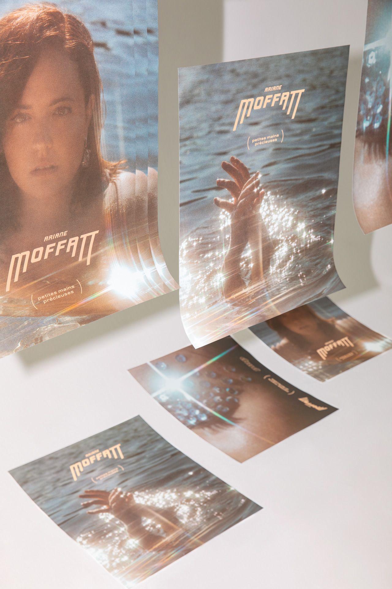 Petites Mains Precieuses album cover of Ariane Moffatt photographed by Kelly Jacob