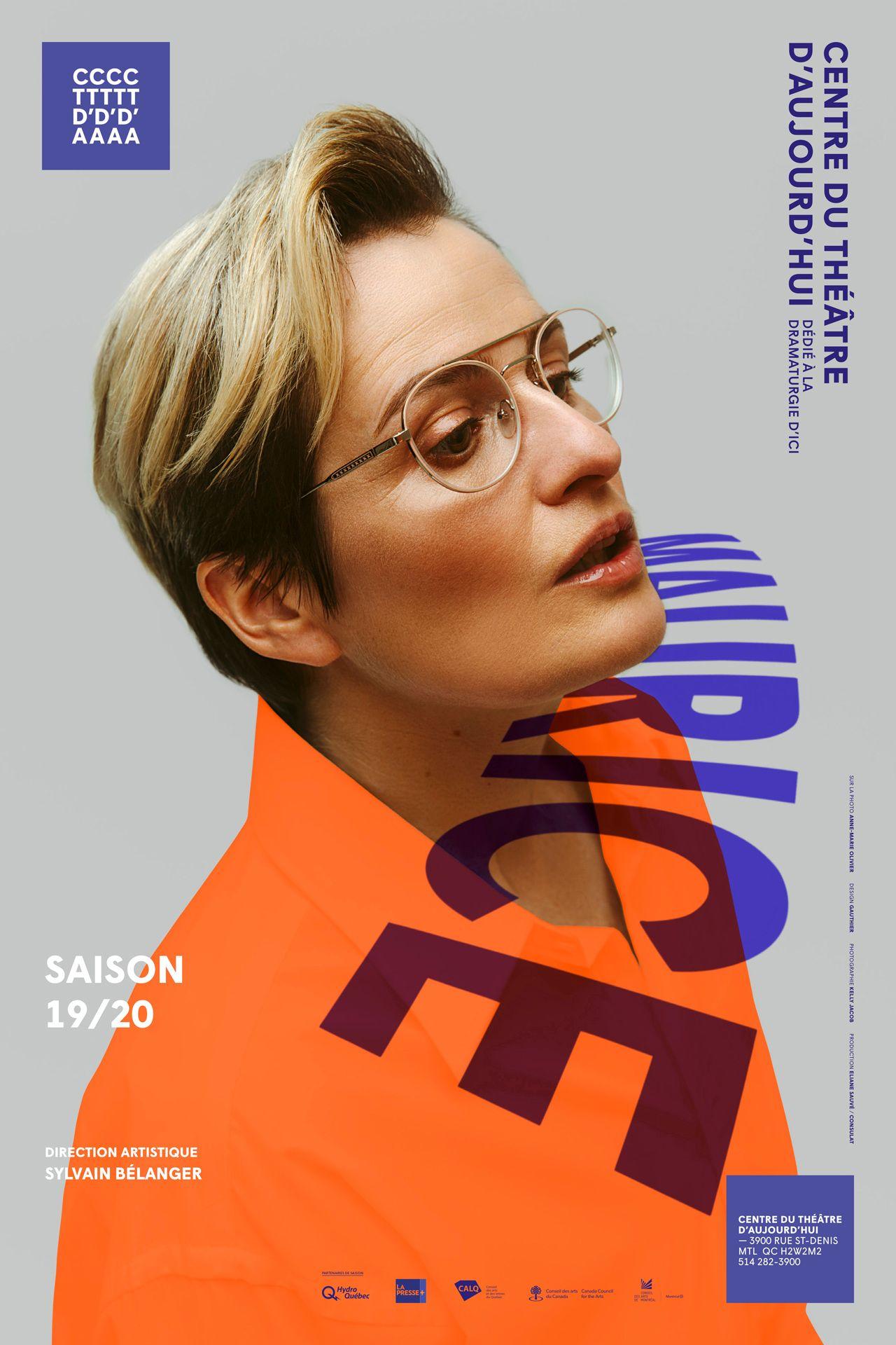 Season 2019 - 2020 of Centre du Theatre D'Aujourd'hui photographed by Kelly Jacob