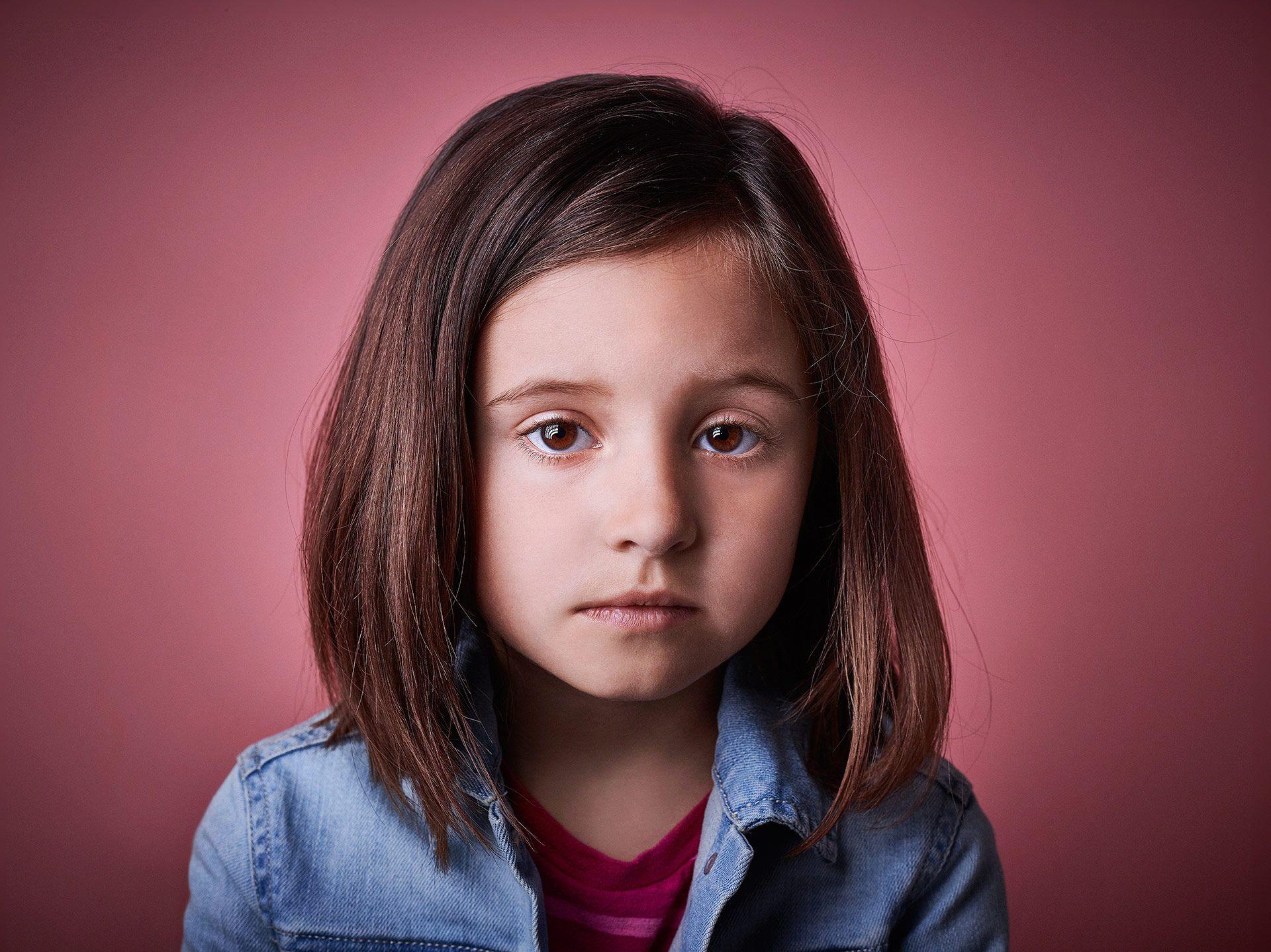 little girl by Jocelyn Michel for Centraide