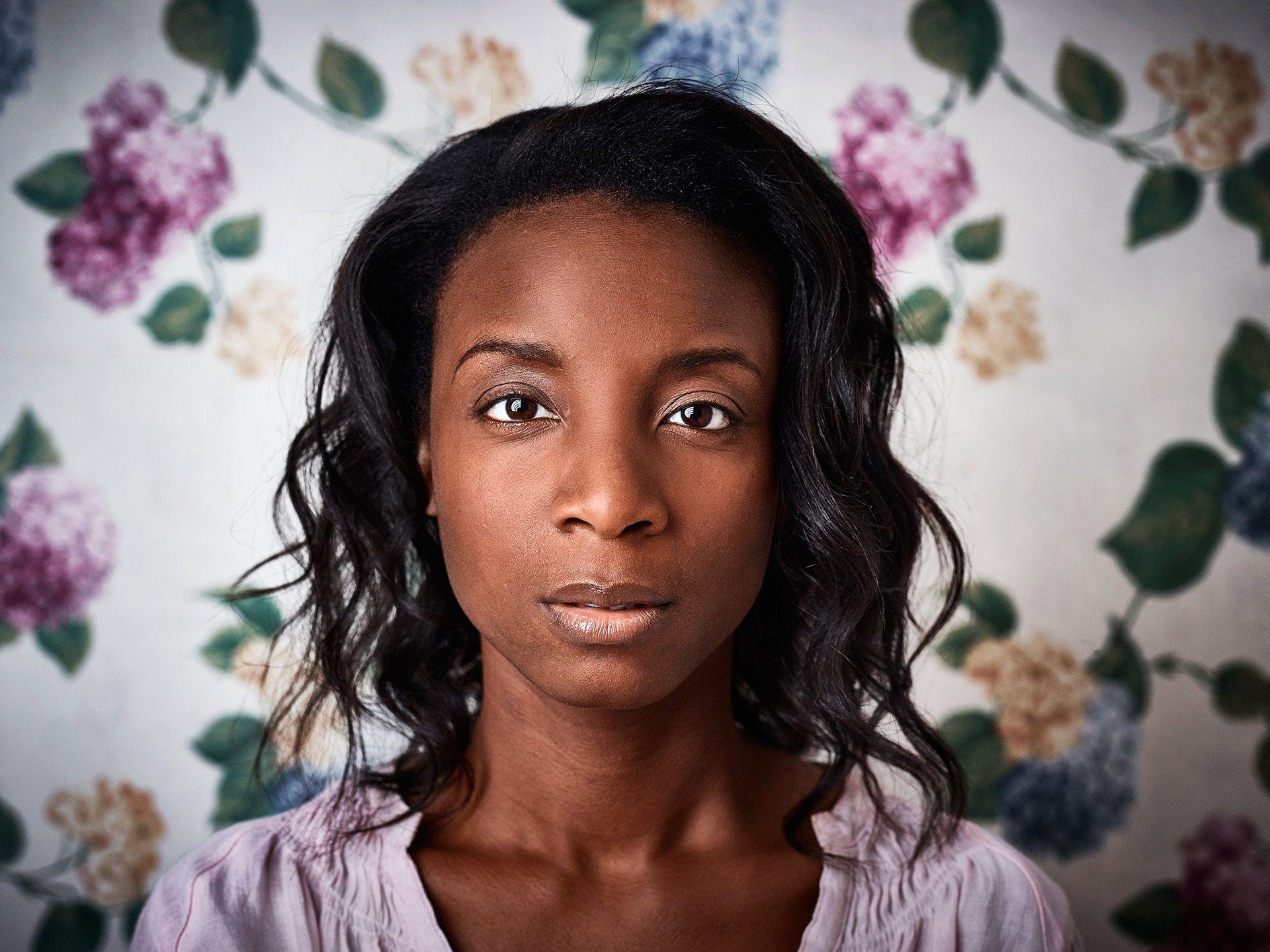 black woman by Jocelyn Michel for Centraide