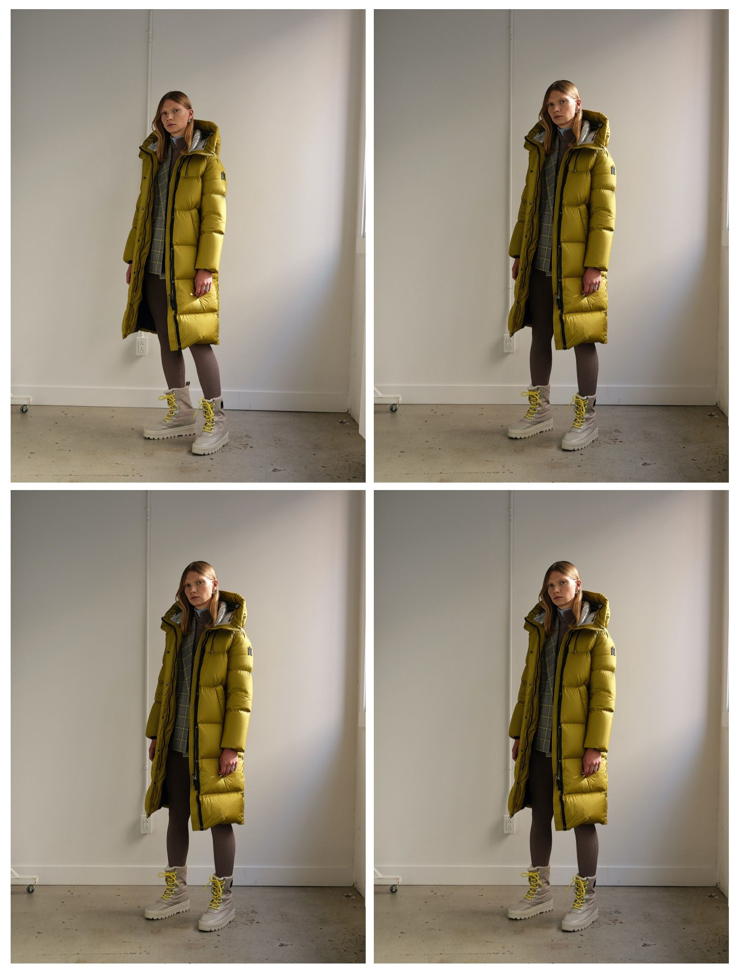 photography in studio for Mackage fall collection 2020 by Maxyme G delisle