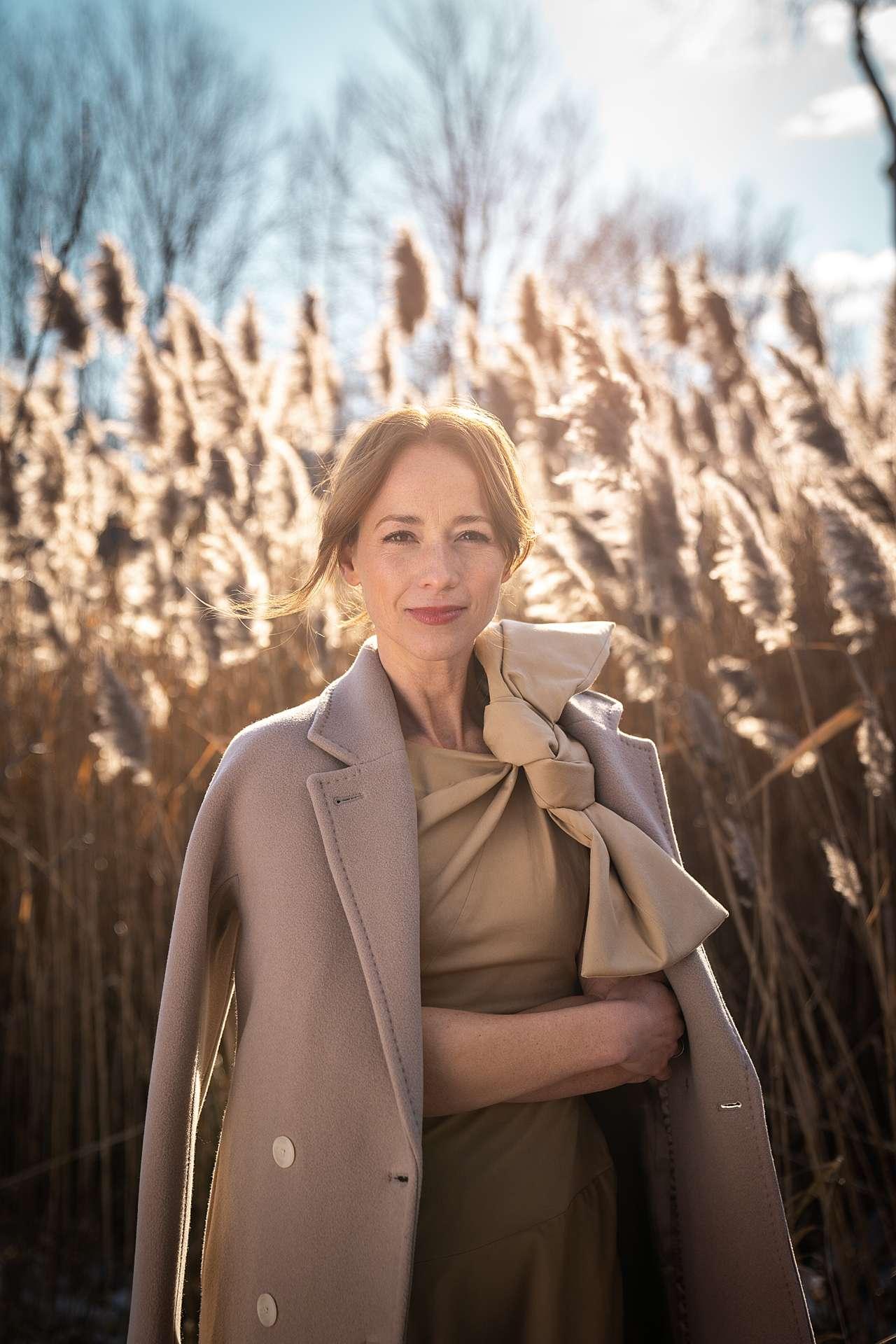 Karine Vanasse pour pub nissan rogue par Bruno florin