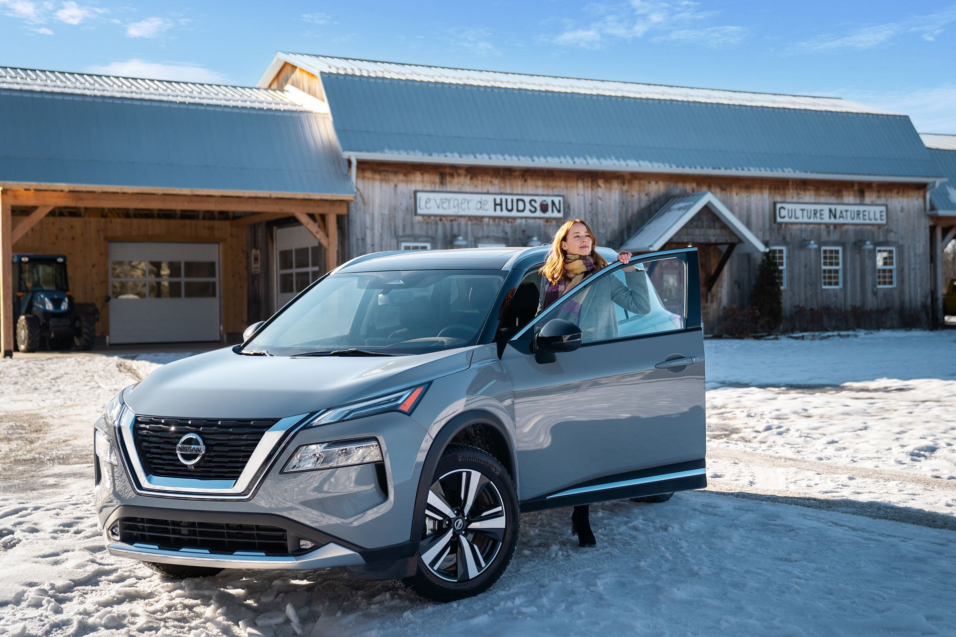 Karine Vanasse for Nissan Rogue by videographer and photographer Bruno Florin