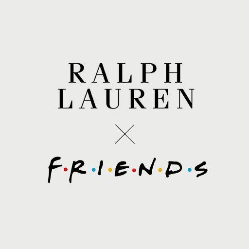 Ralph Lauren x FRIENDS Campaign signature