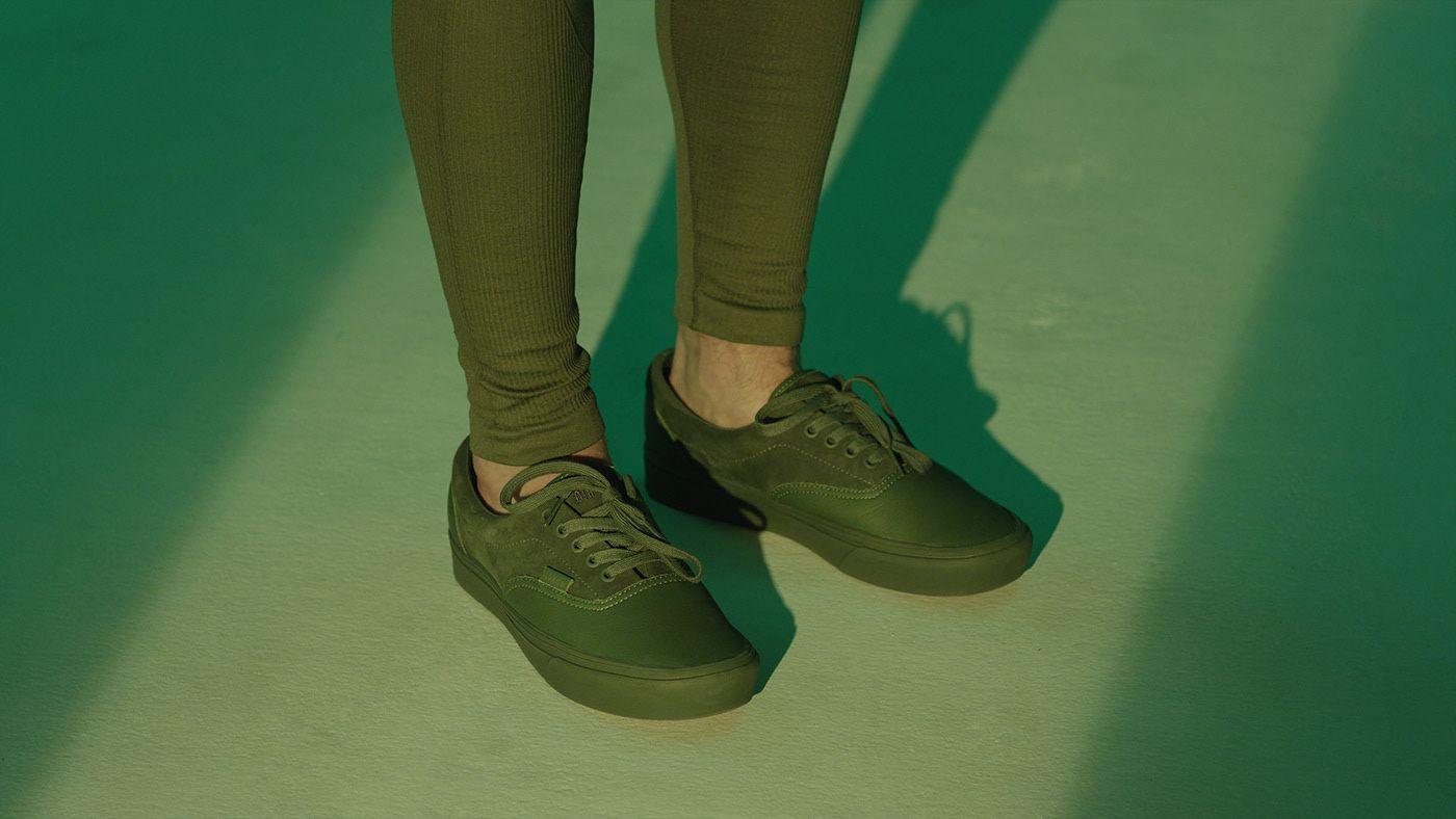 chaussures Vans pour la campagne 2019 de OTH x VANS inspirée du Plateau de Montréal par Simon Duhamel