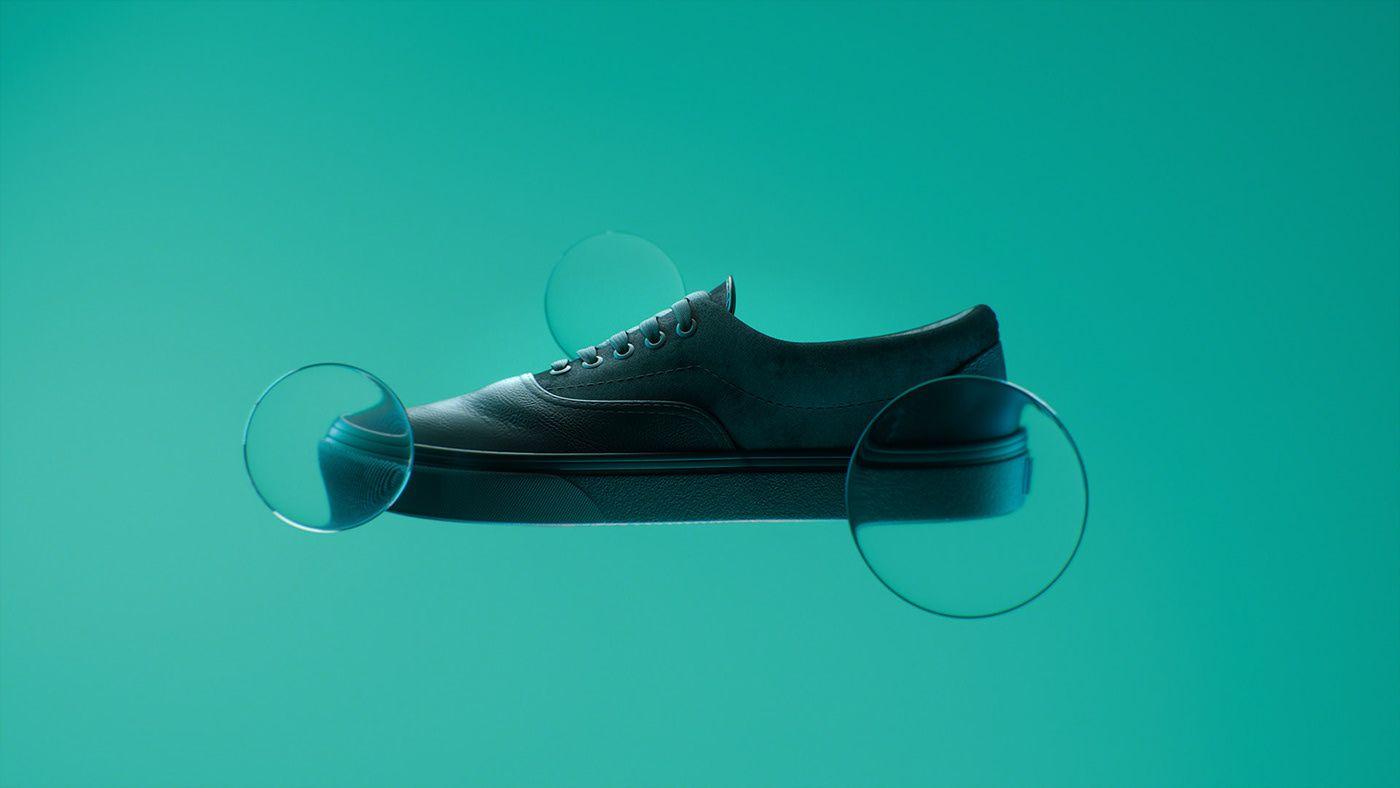 Vans's shoe for OTH x VANS by Simon Duhamel