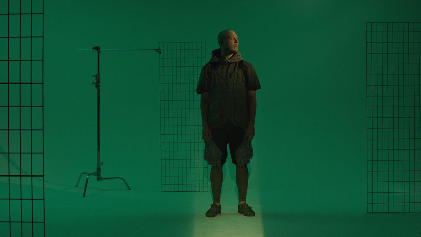 model posing for the OTH x VANS 2019 campaign by Simon Duhamel