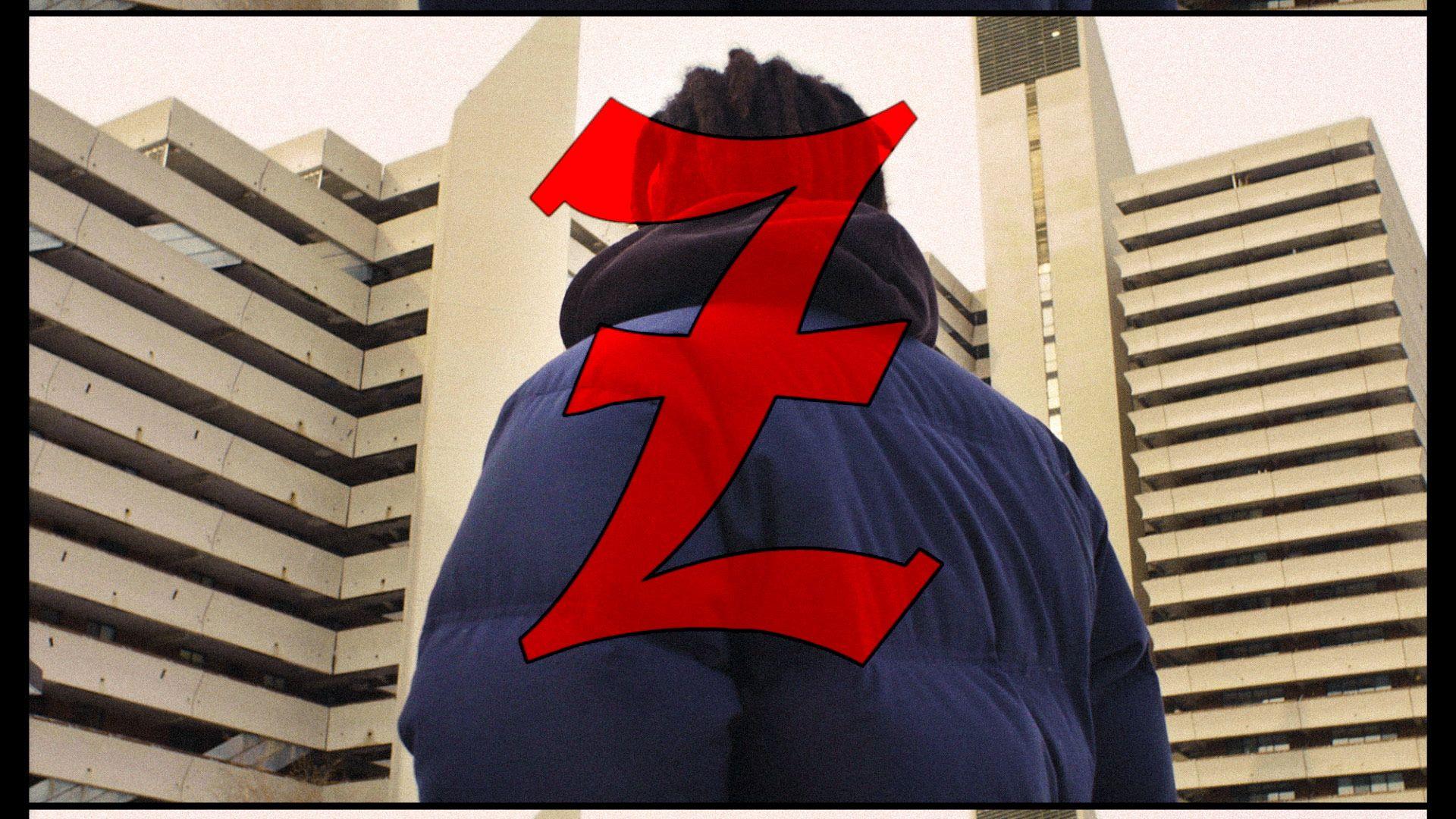 rapper Zach Zoya in music video Who Dat filmed by Les Gamins