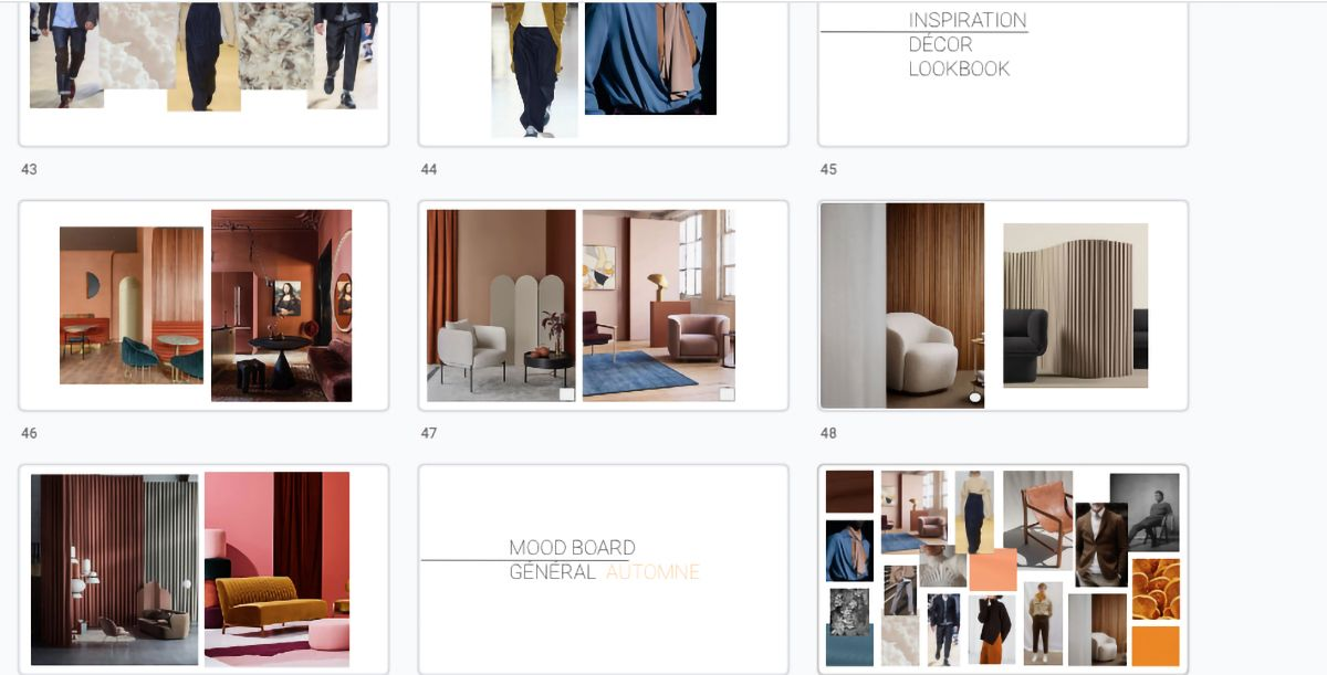 research of locations and decor by Studio TB for Jean-Paul Fortin Fall collection