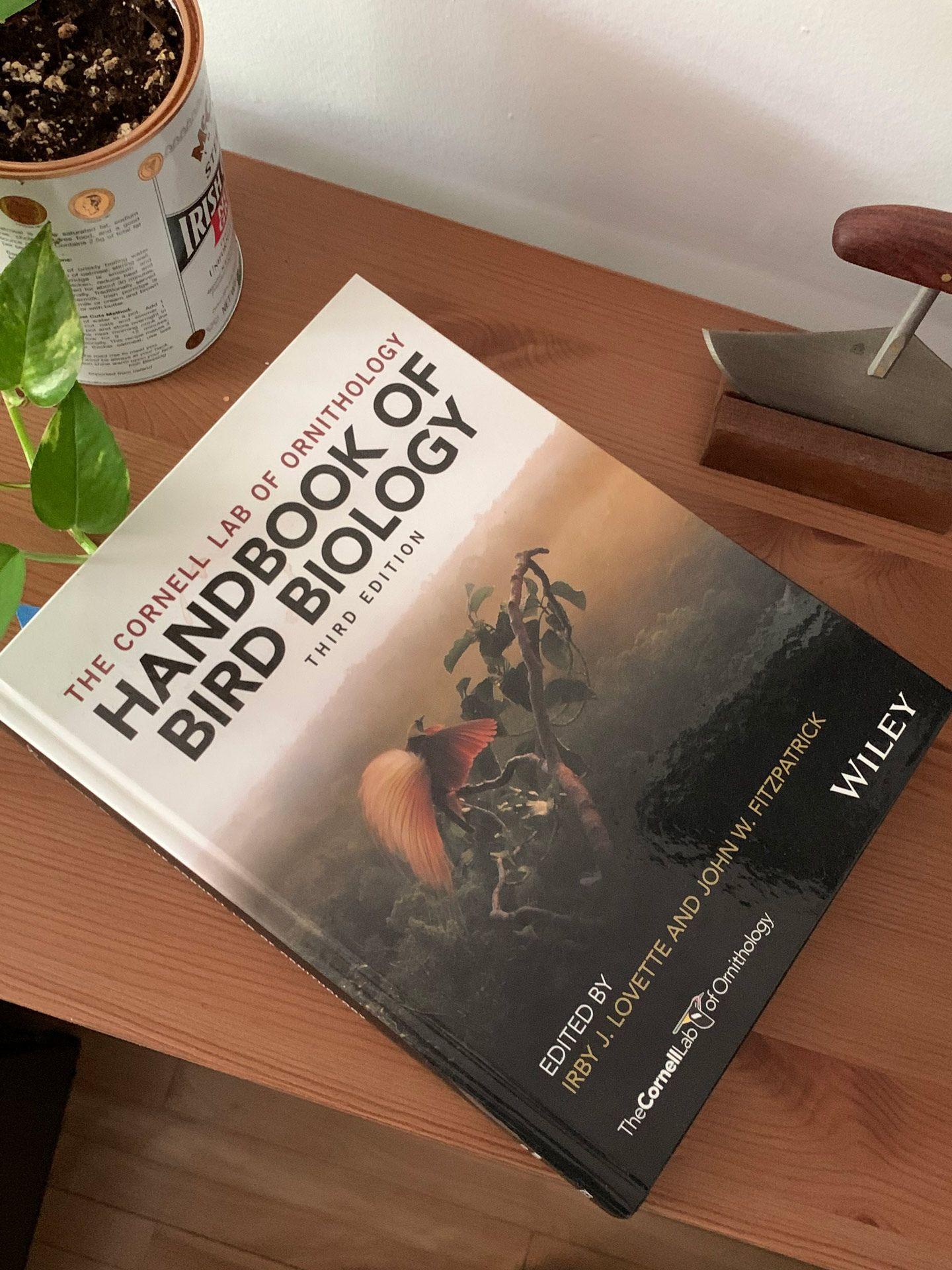 book of handbook of bird biology