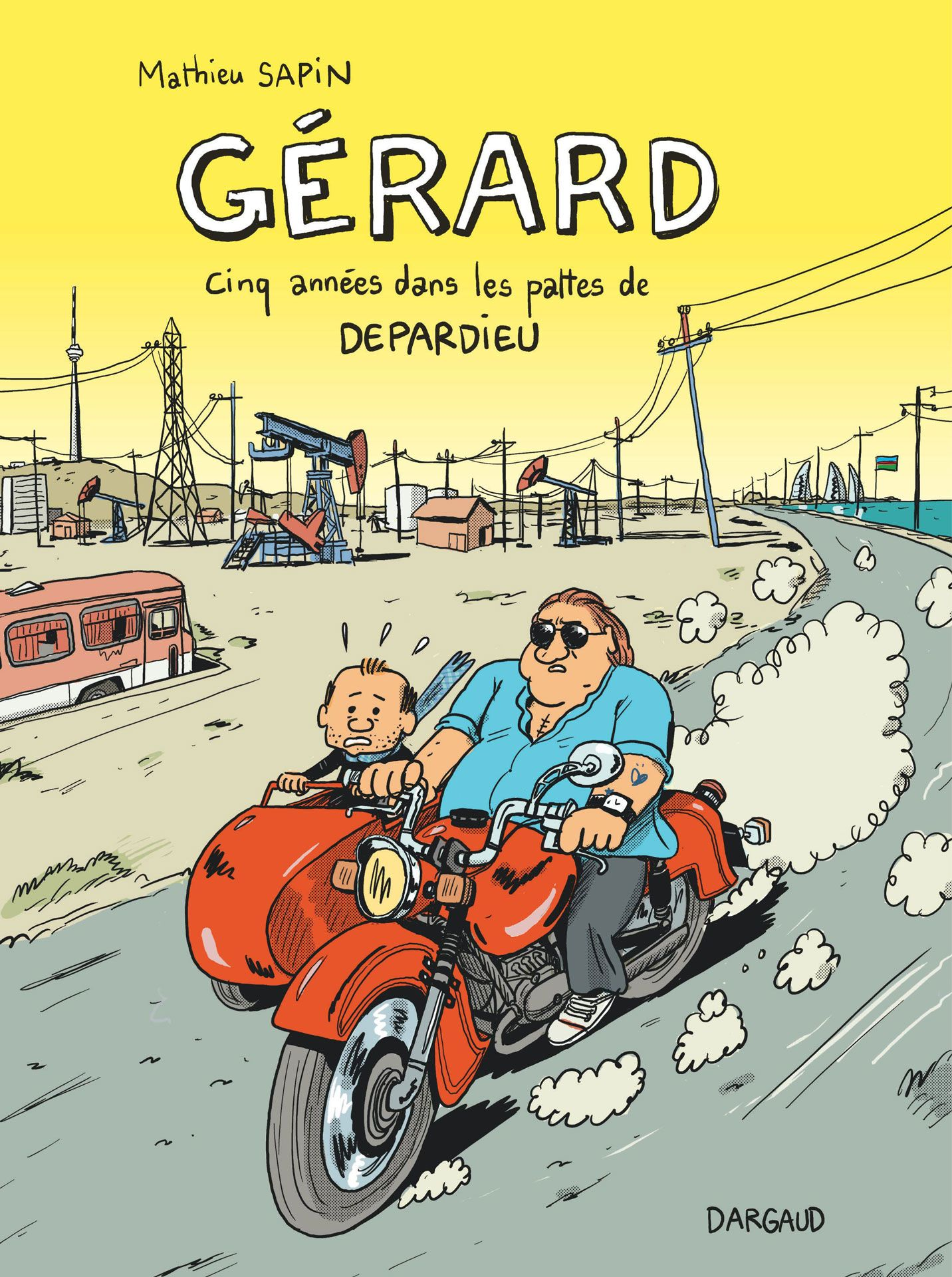 cover of comic Gerard by Mathieu Sapin