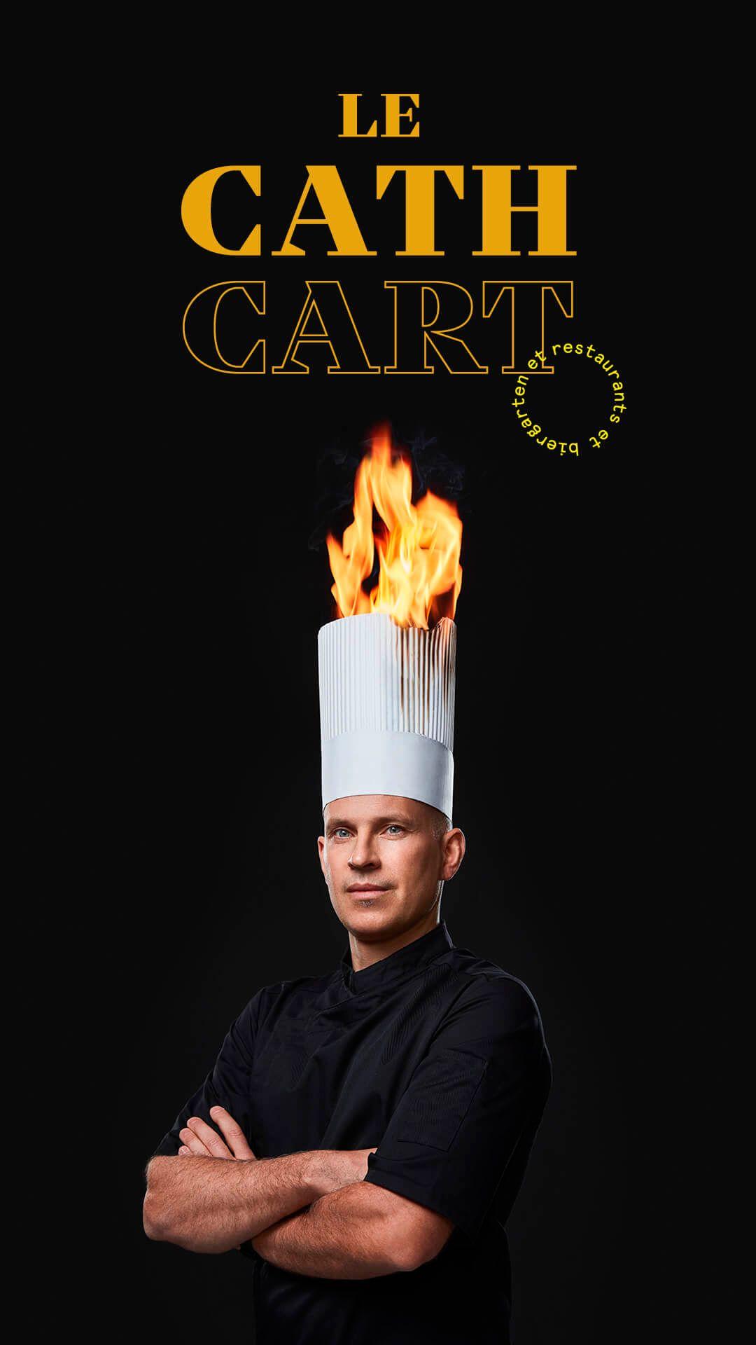 Lionel Piraux by Jocelyn Michel for Cathcart restaurant
