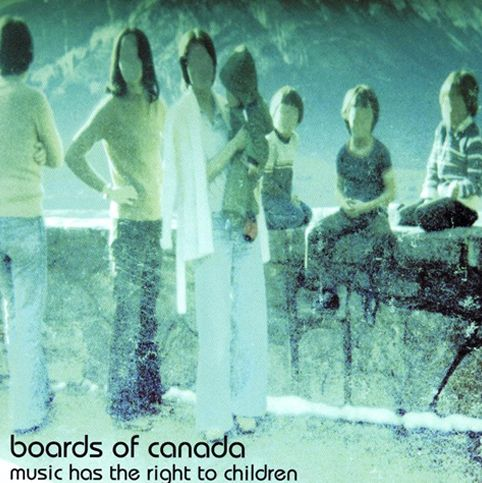 Boards of canada album Music Has A Right To The Children cover