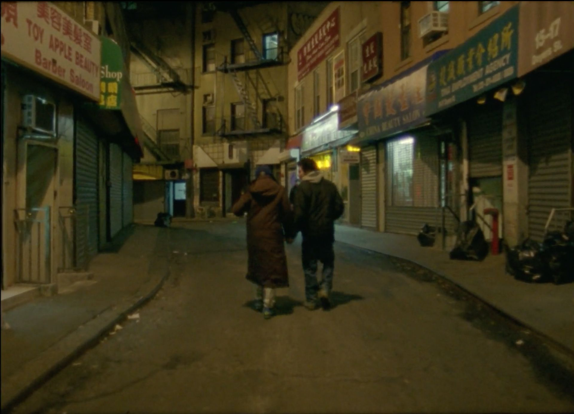 still from music video of Canal by Ratking