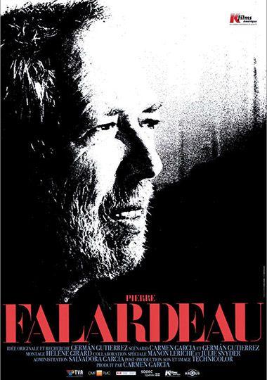 movie poster of Pierre Falardeau by Carmen Garcia and German Gutierrez