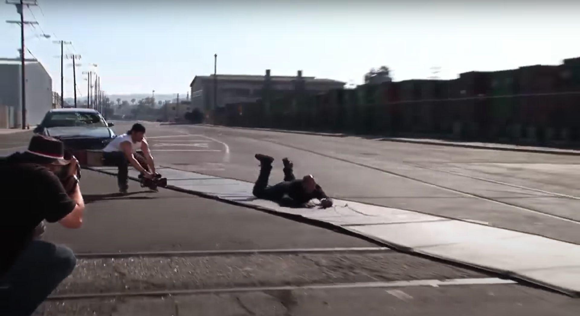 Stunt Cameraman on Action