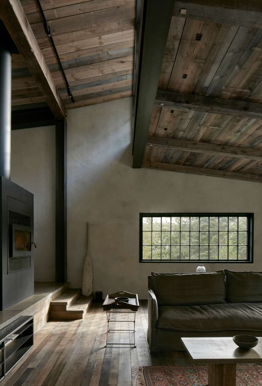 interior of architectural building MG2 by Alain Carle Architecture