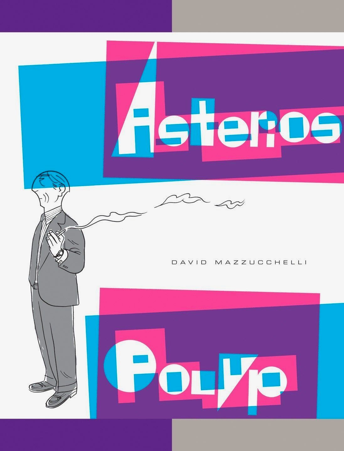 Asterios Polyp by David Mazzucchelli book cover