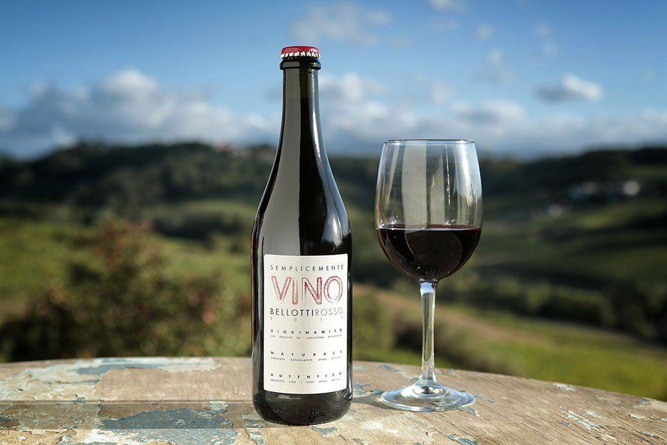 italian wine bottle