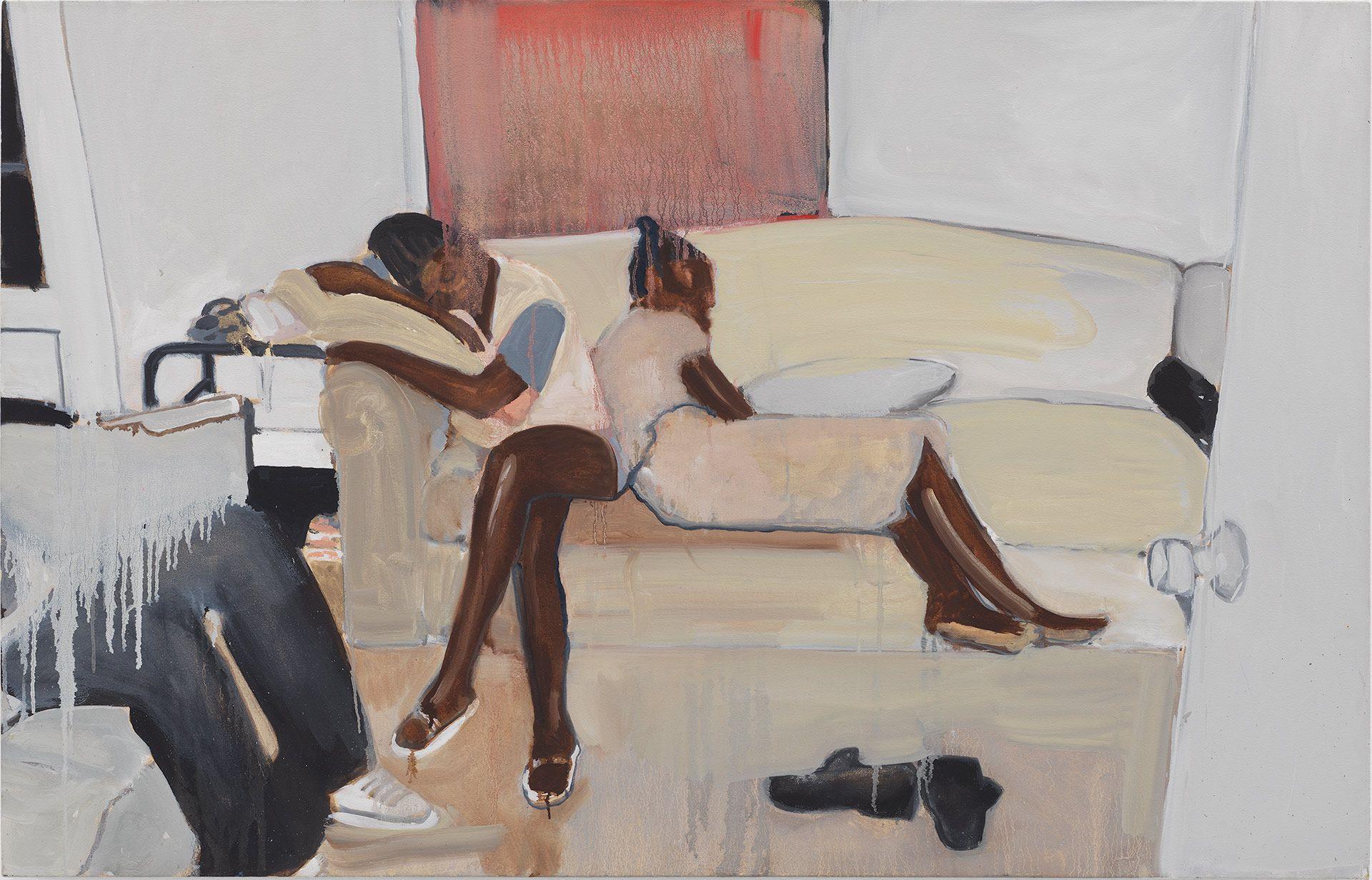 painting by artist Noah Davis