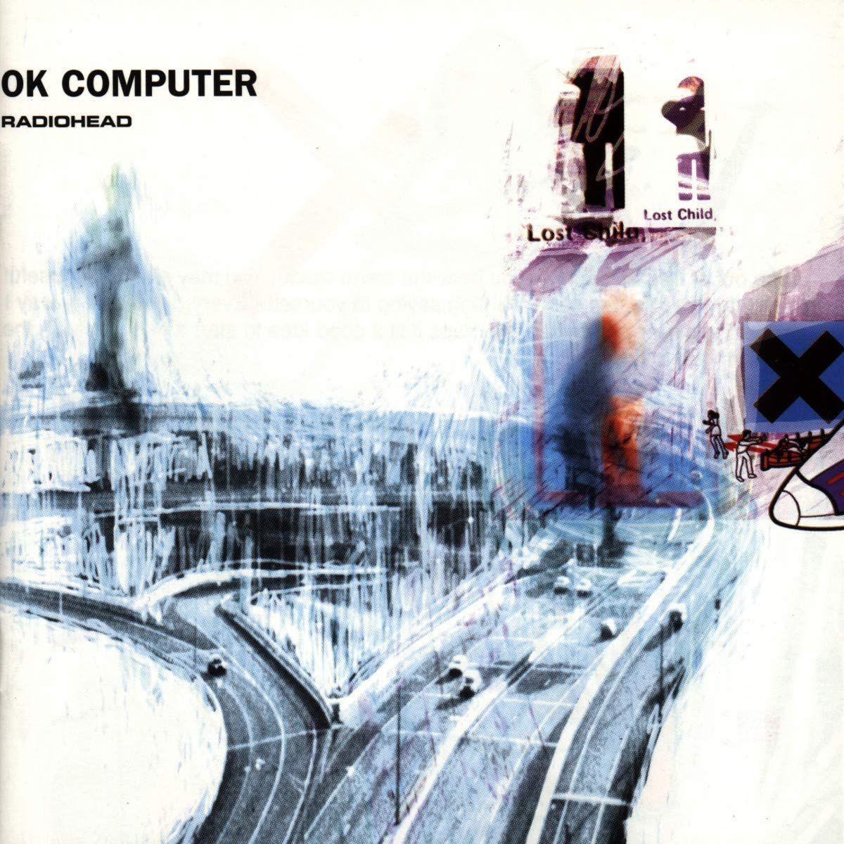 Ok Computer by Radiohead album cover