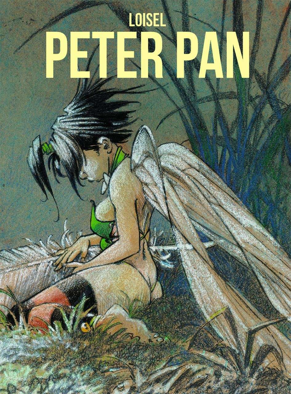 Regis Loisel's Peter Pan book cover