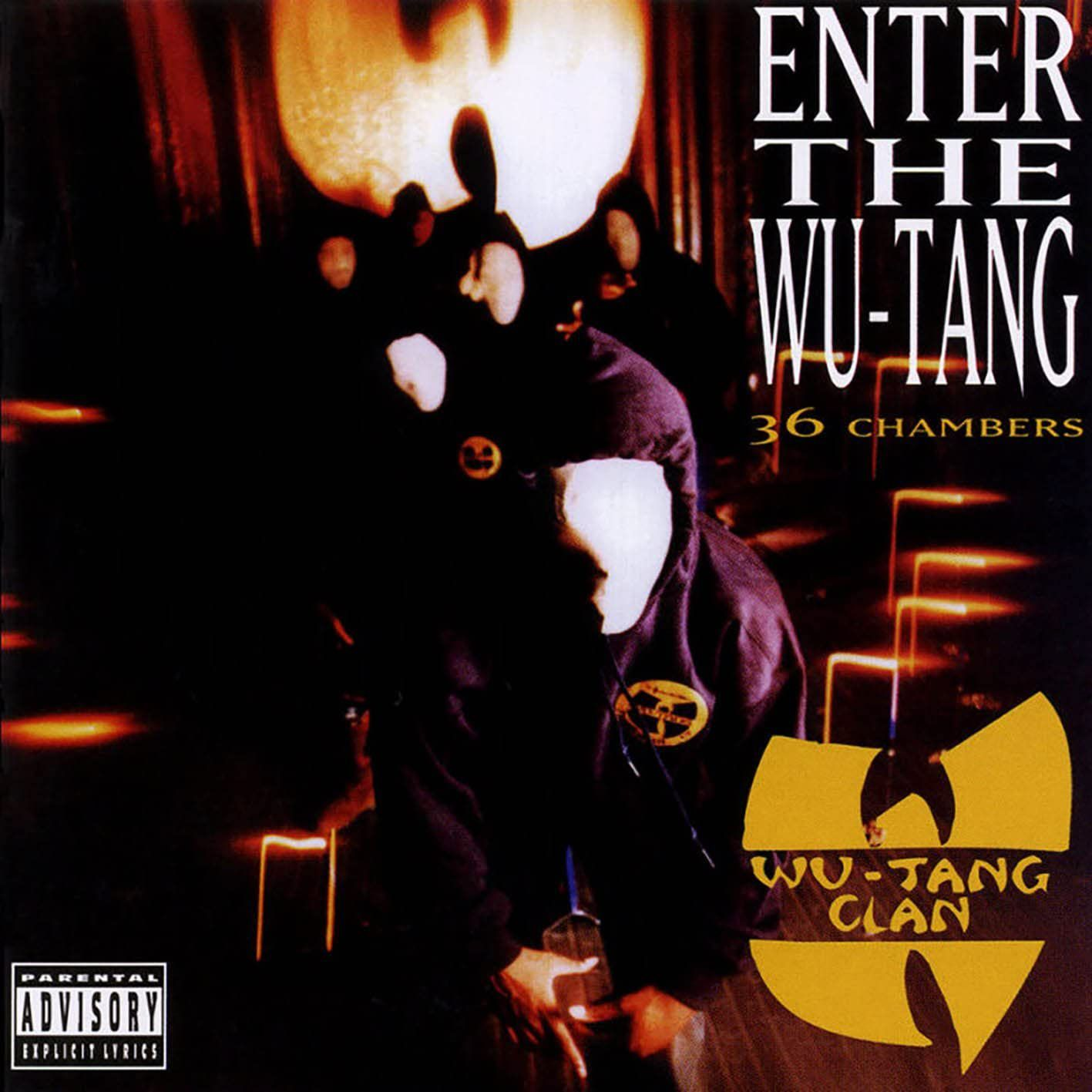 Wu-Tang Clan's 36 chambers album cover