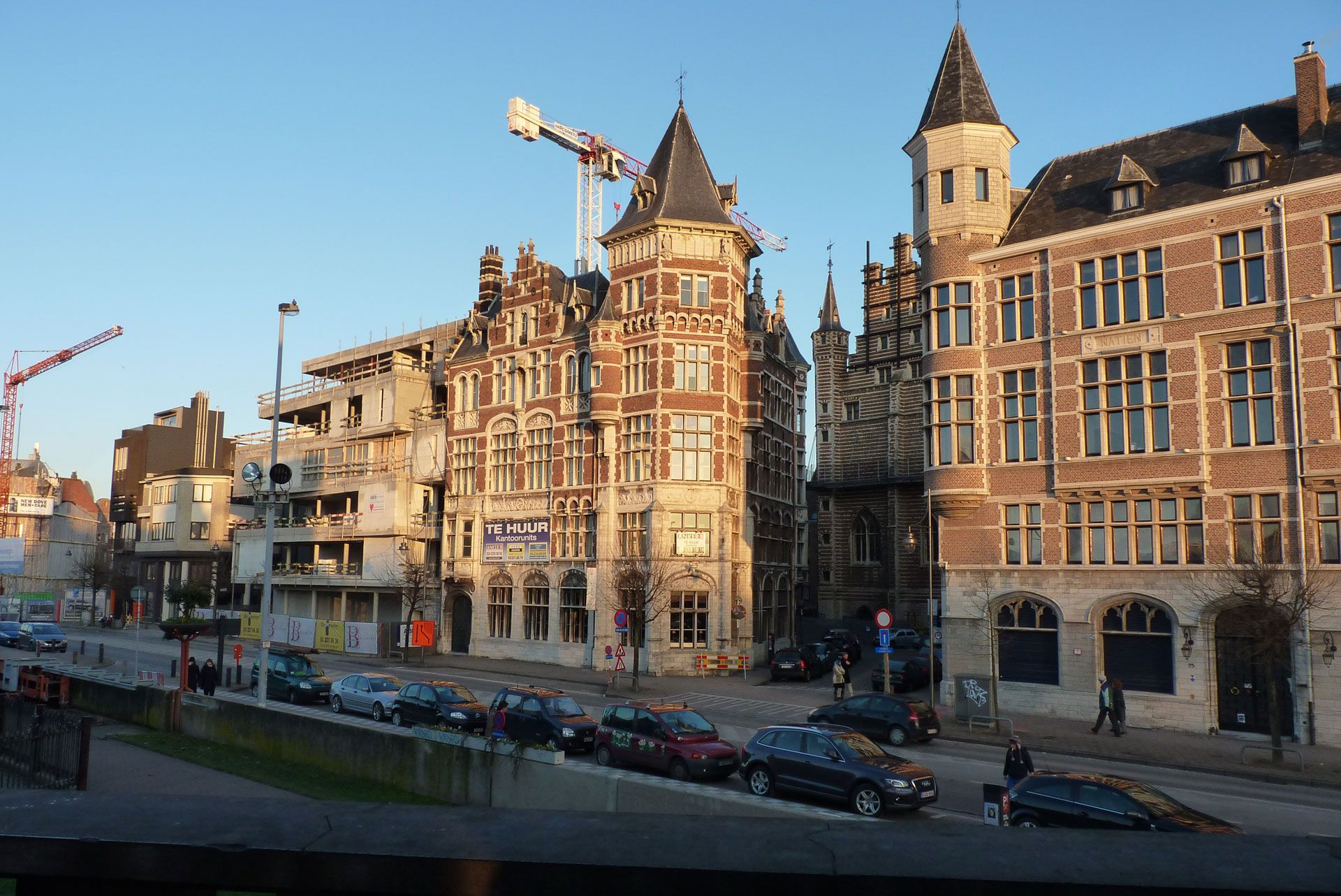 town of Anvers in France