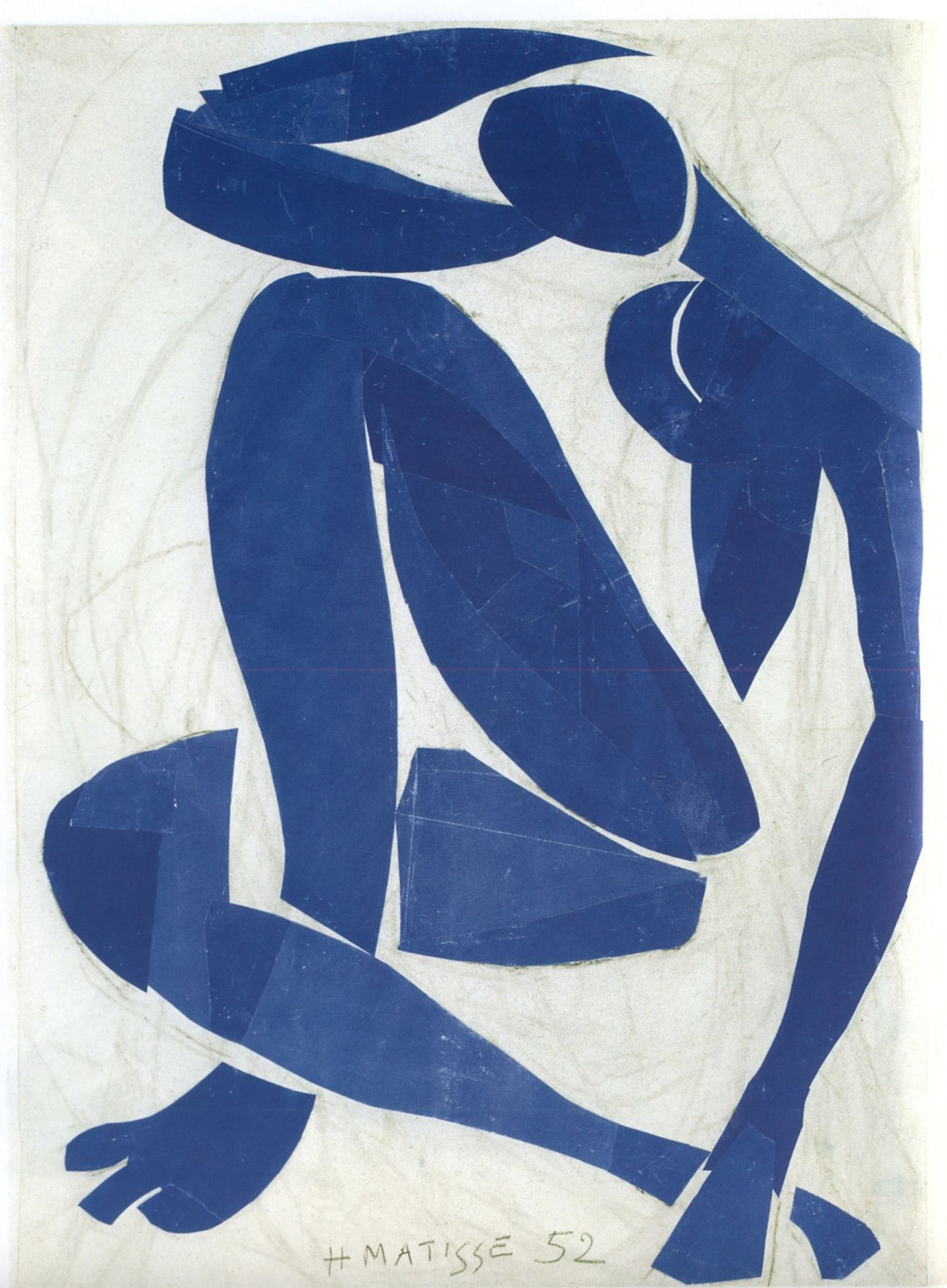 blue nudes painting by Henri Matisse