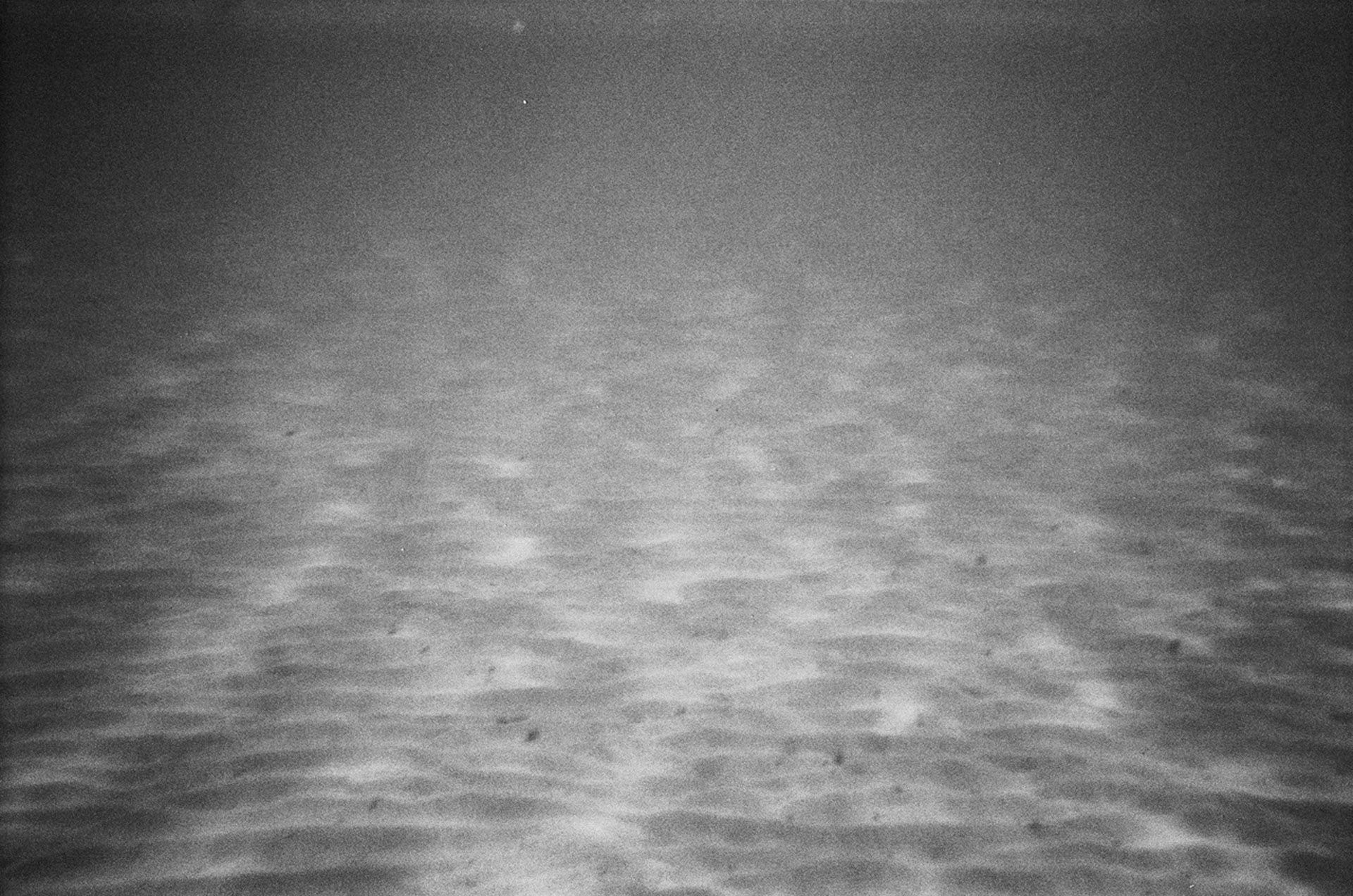 picture of sand underwater